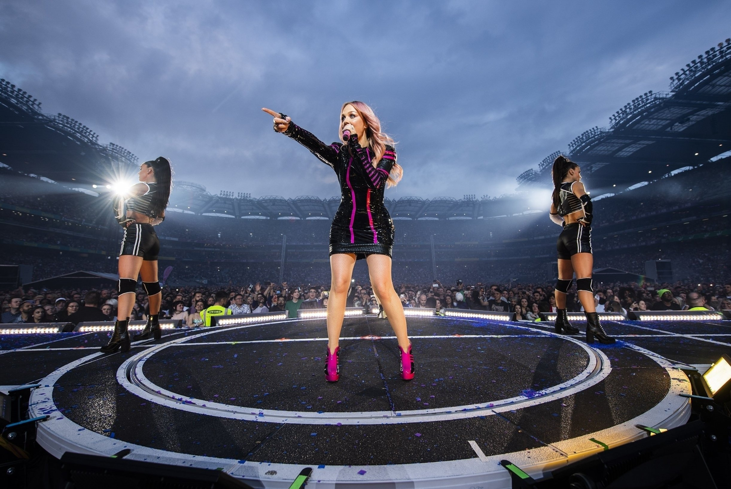BGUK_1602307 - Dublin, UNITED KINGDOM  - The Spice Girls performing live in Dublin at the opening night of their Spice World Tour!  Pictured: Emma Bunton  BACKGRID UK 25 MAY 2019, Image: 436789850, License: Rights-managed, Restrictions: , Model Release: no, Credit line: Profimedia, Backgrid UK