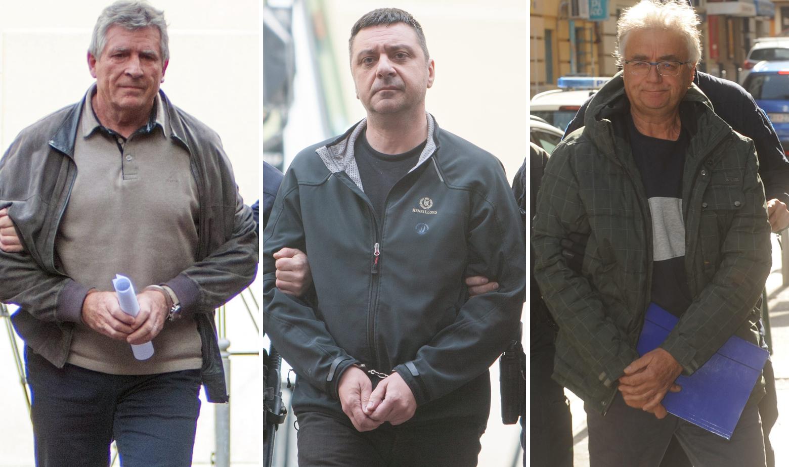 Marinko Brgić, Gianni Rossanda i Veljko Grbac