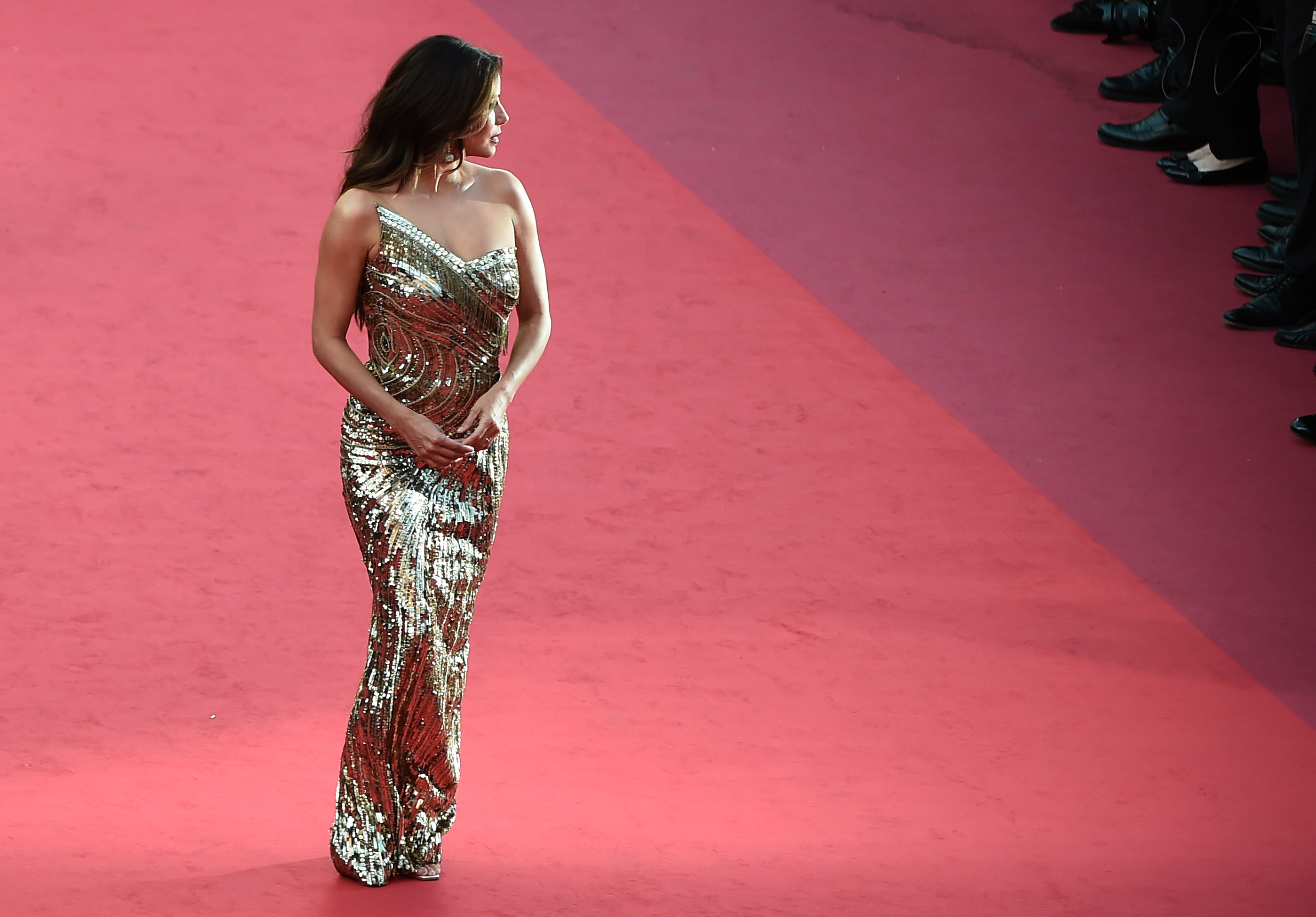 CANNES, FRANCE - MAY 16: Eva Longoria attends the screening of