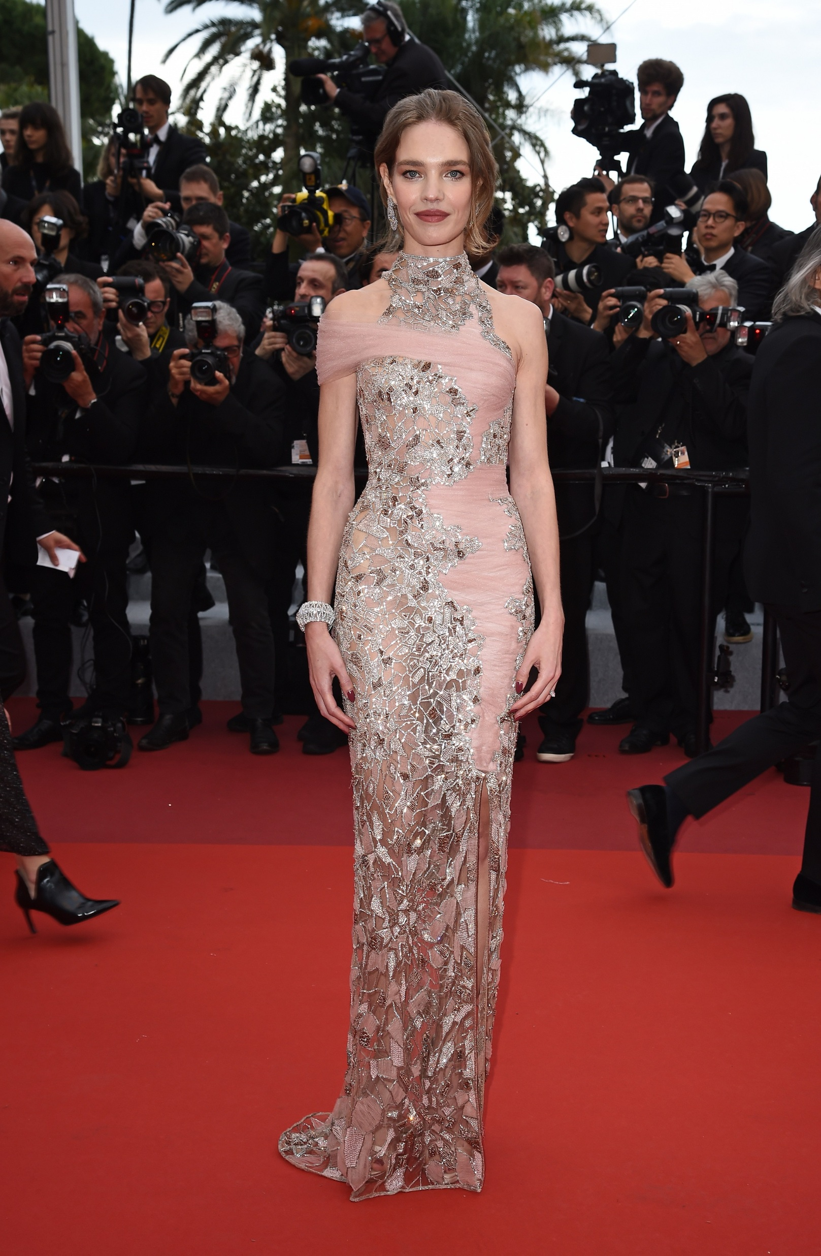 CANNES, FRANCE - MAY 20: Natalia Vodianova attends the screening of