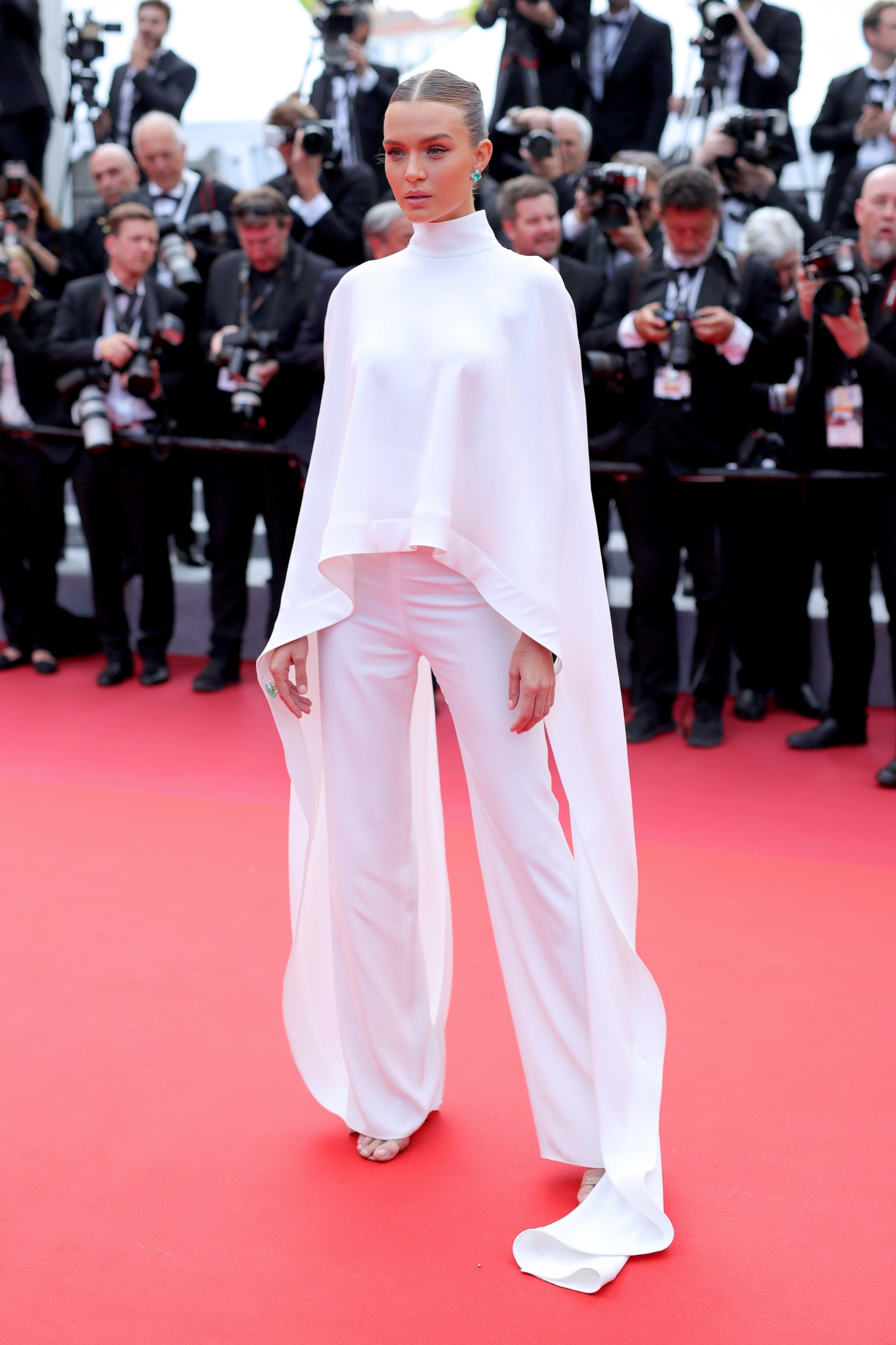 CANNES, FRANCE - MAY 22: Josephine Skriver attends the screening of