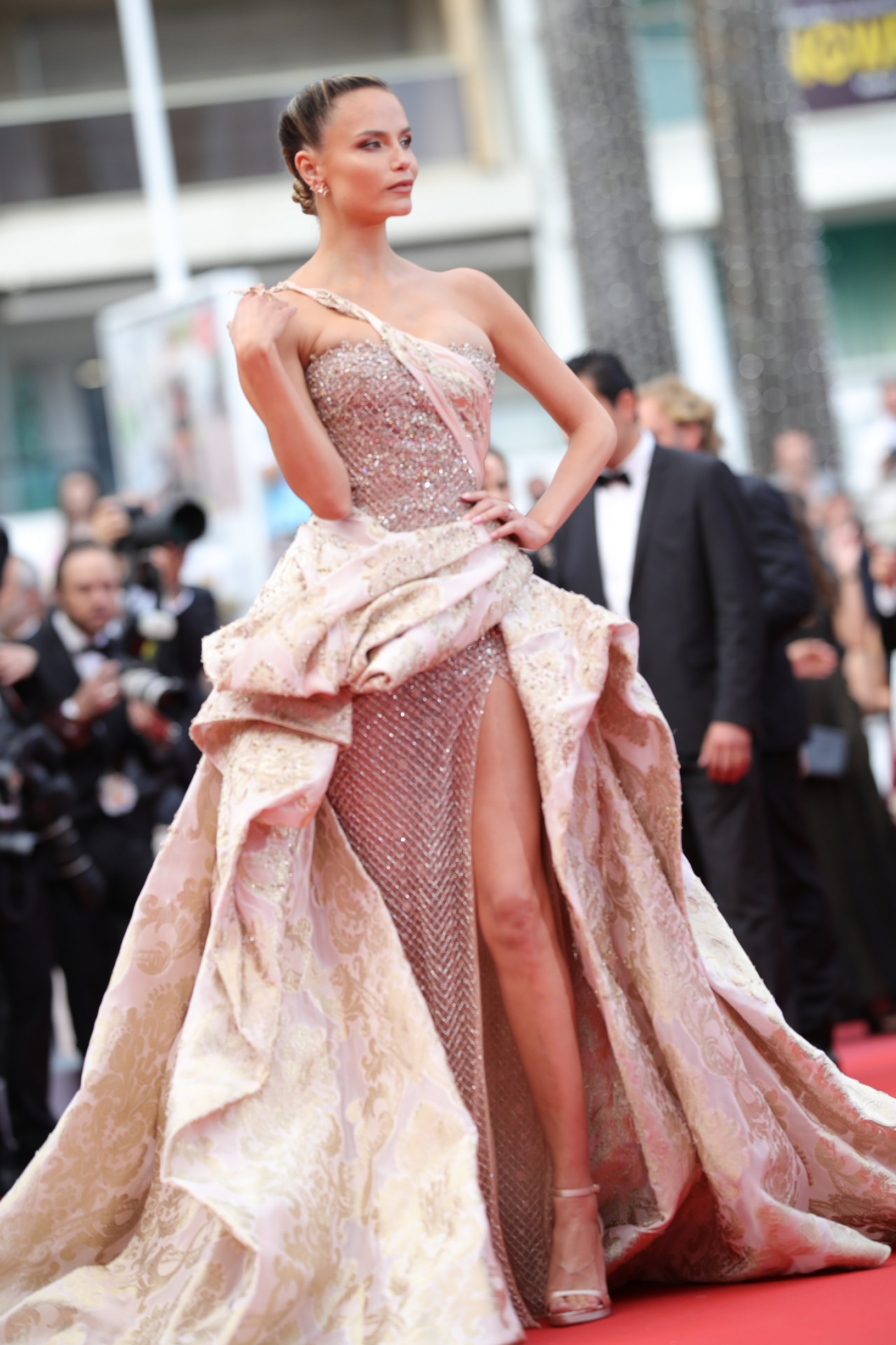 CANNES, FRANCE - MAY 22:  Natasha Poly attends the screening of
