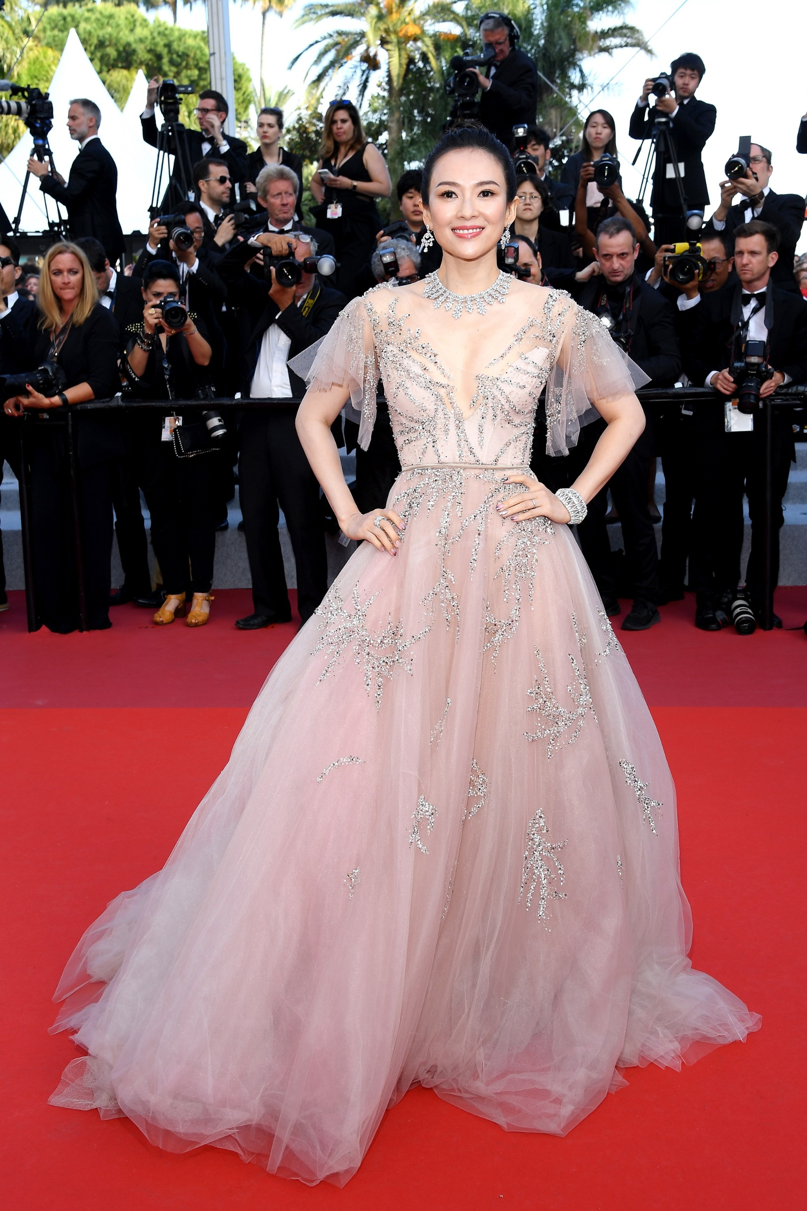CANNES, FRANCE - MAY 25: Zhang Ziyi attends the closing ceremony screening of