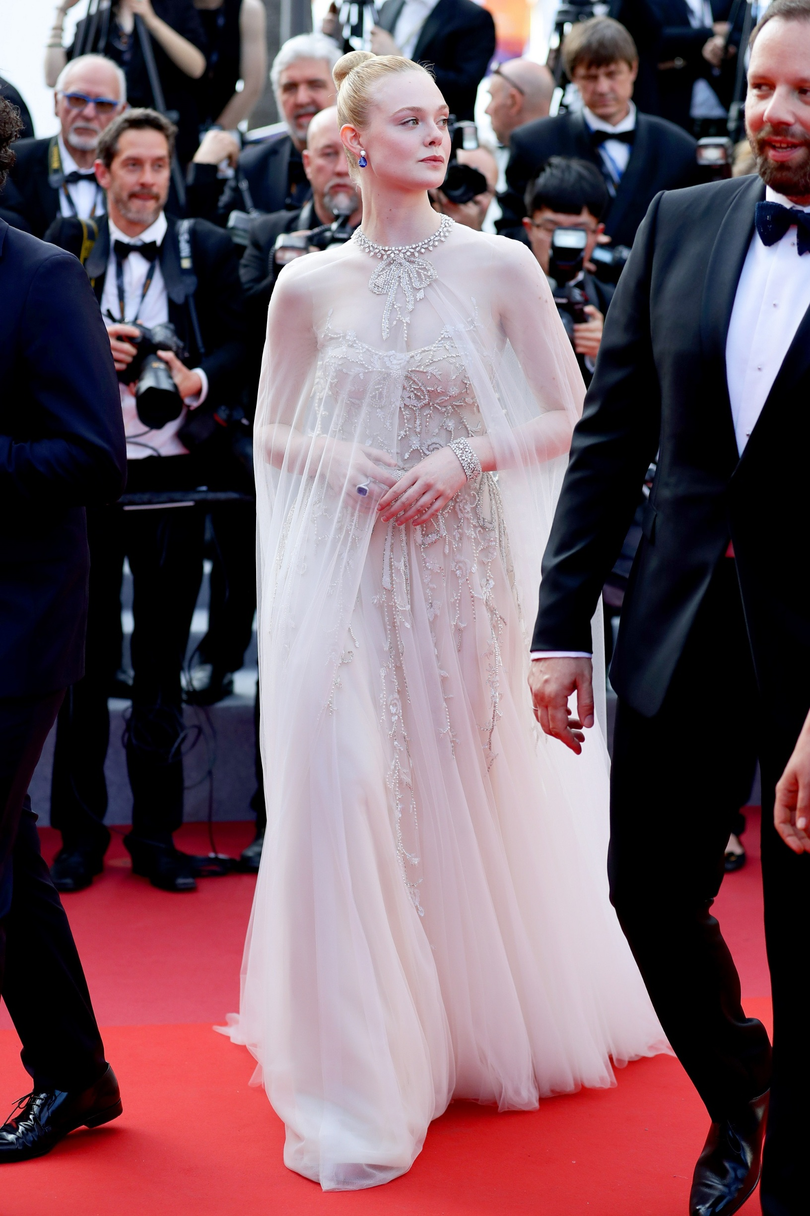 CANNES, FRANCE - MAY 25: Elle Fanning attends the closing ceremony screening of