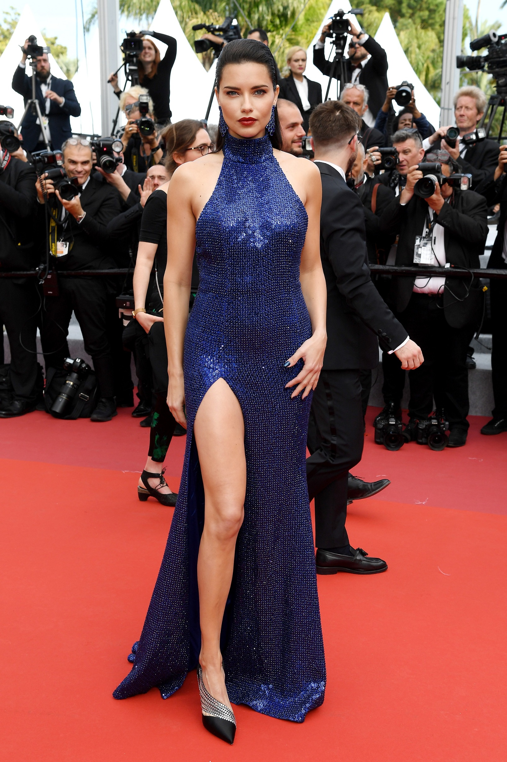 CANNES, FRANCE - MAY 22: Adriana Lima attends the screening of