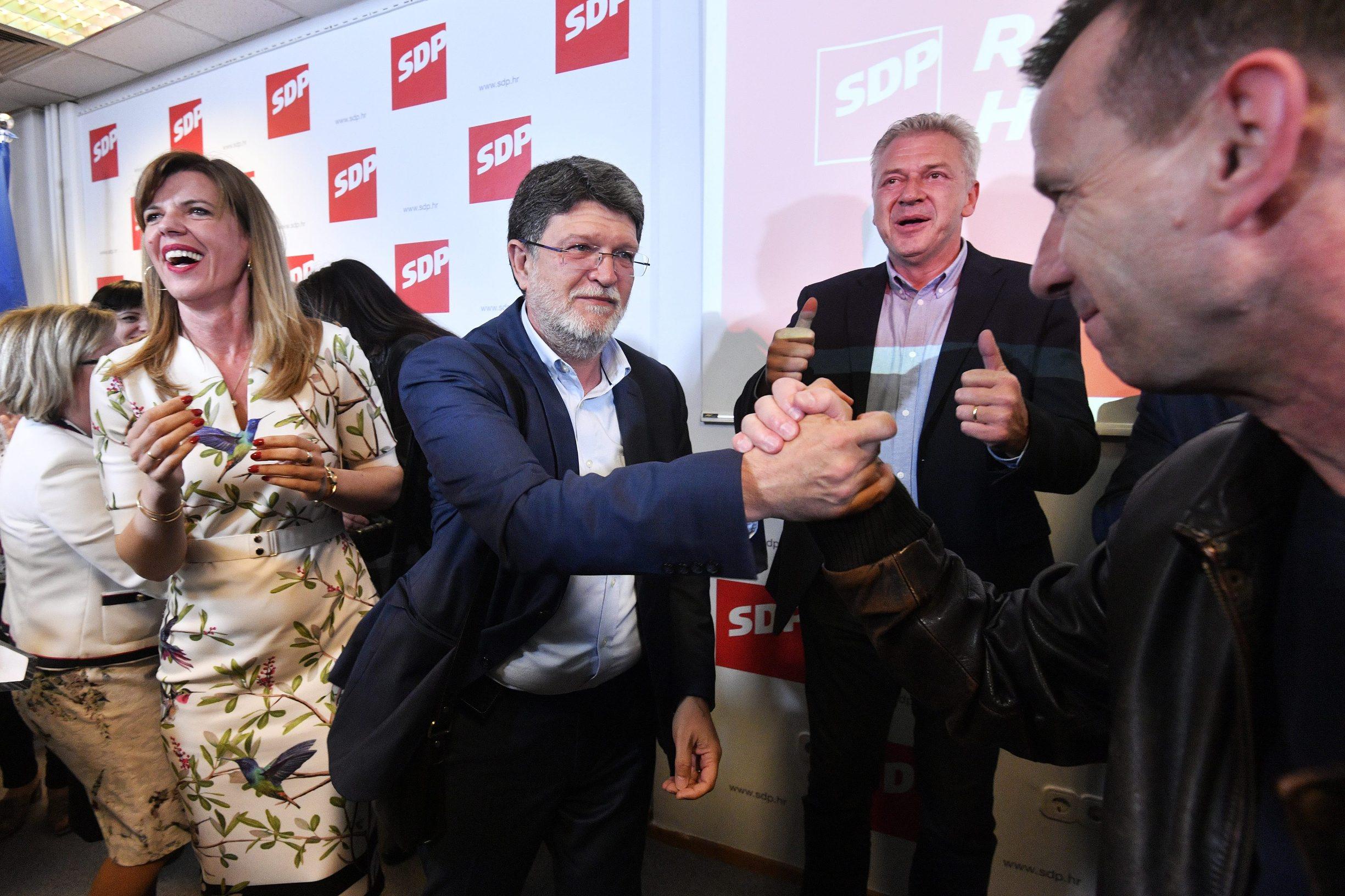Slavlje u SDP-u