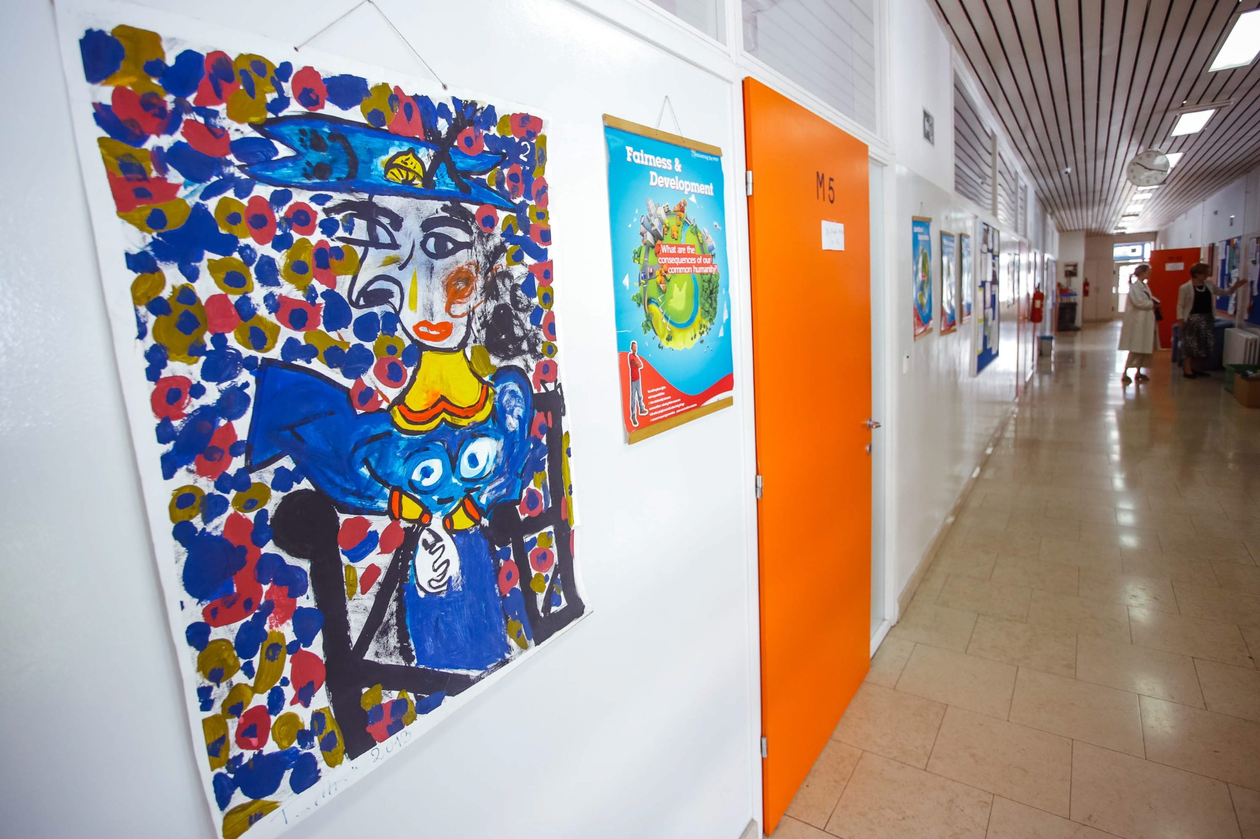 Zagreb, 240519. Jordanovac. XV. gimnazija, popularno zvana MIOC, je prirodoslovna matematicka gimnazija. Ma fotografiji: skola. Foto: Marko Todorov / CROPIX