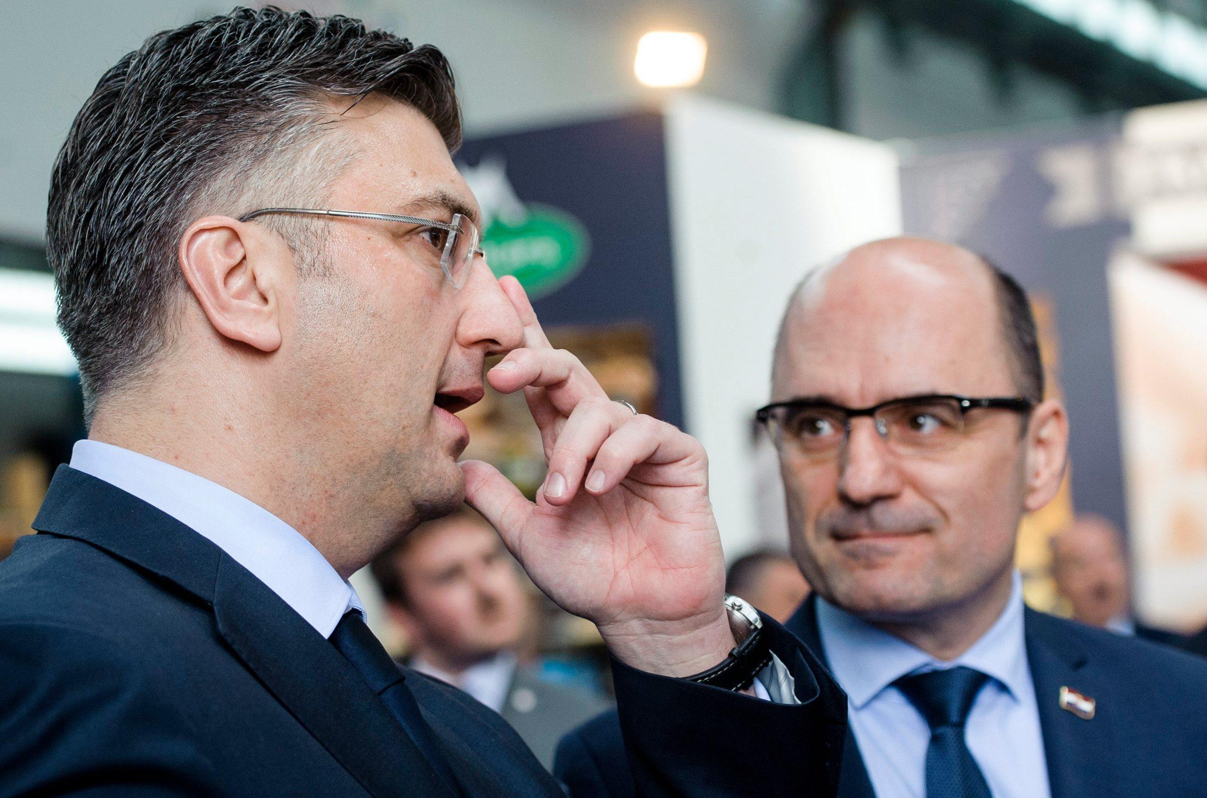 Andrej Plenković i Milijan Brkić