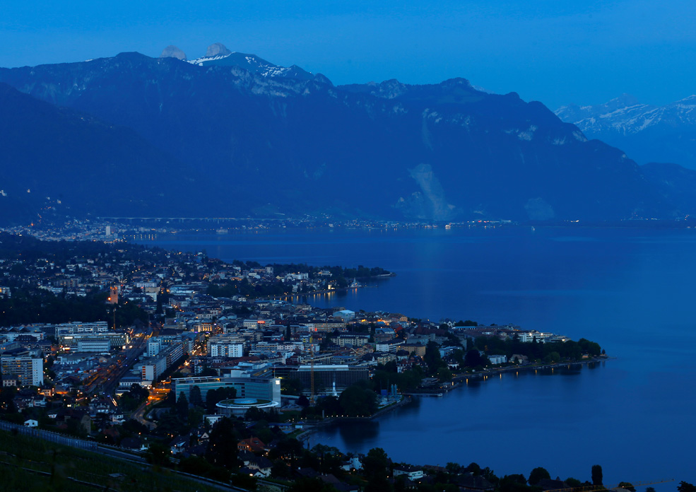 Gradovi Vevey i Montreux uz Ženevsko jezero