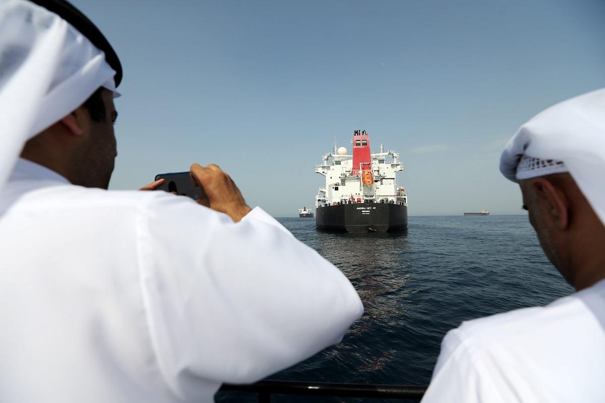 Oštećeni tanker Andrea Victory