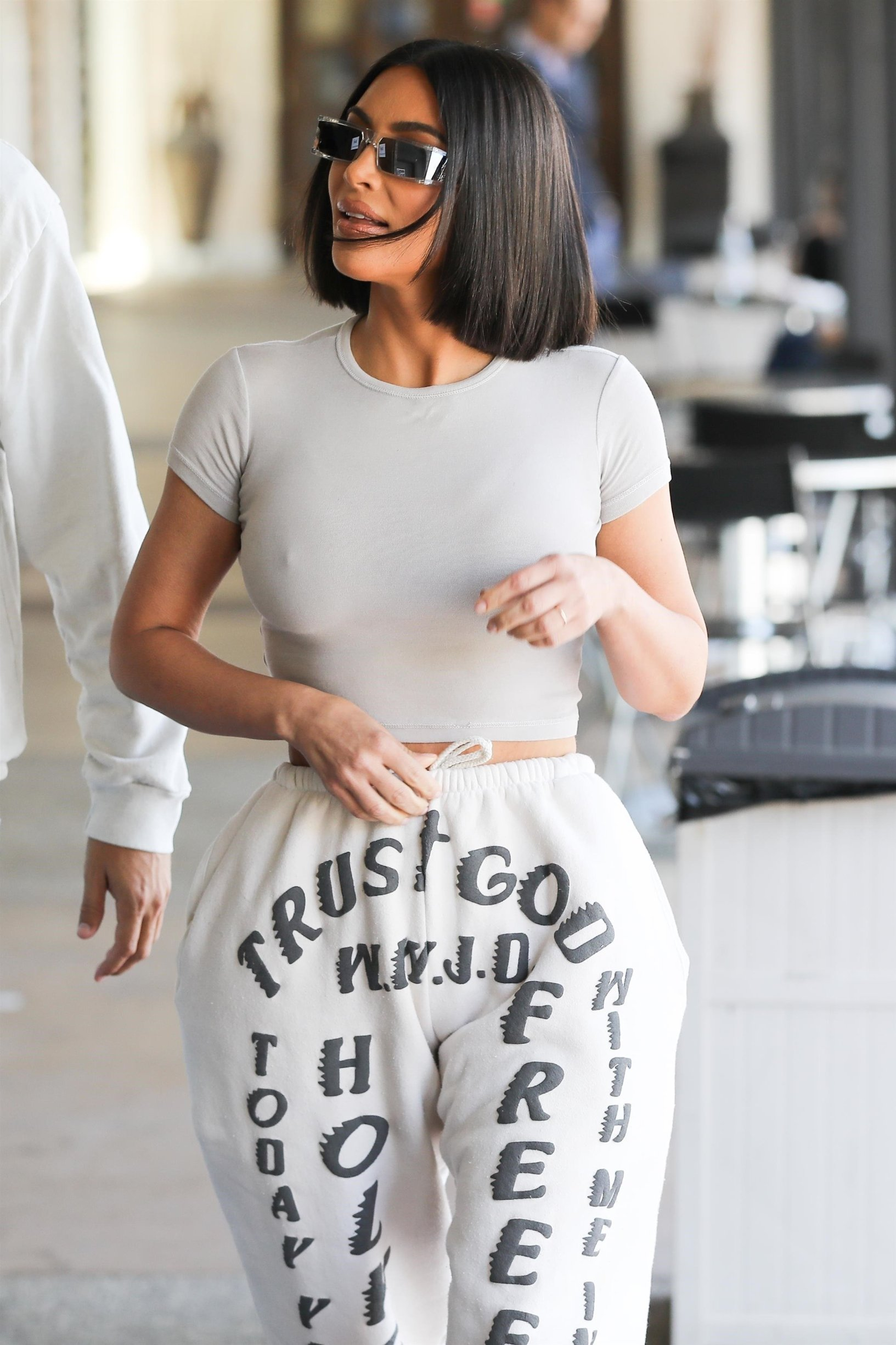 *EXCLUSIVE* Calabasas, CA  - Kim Kardashian, Khloe Kardashian, and Scott Disick depart after lunch together at Plata Taqueria & Cantina in Calabasas while filming for KUWTK.  BACKGRID USA 28 MAY 2019, Image: 438755989, License: Rights-managed, Restrictions: , Model Release: no, Credit line: Profimedia, Backgrid USA