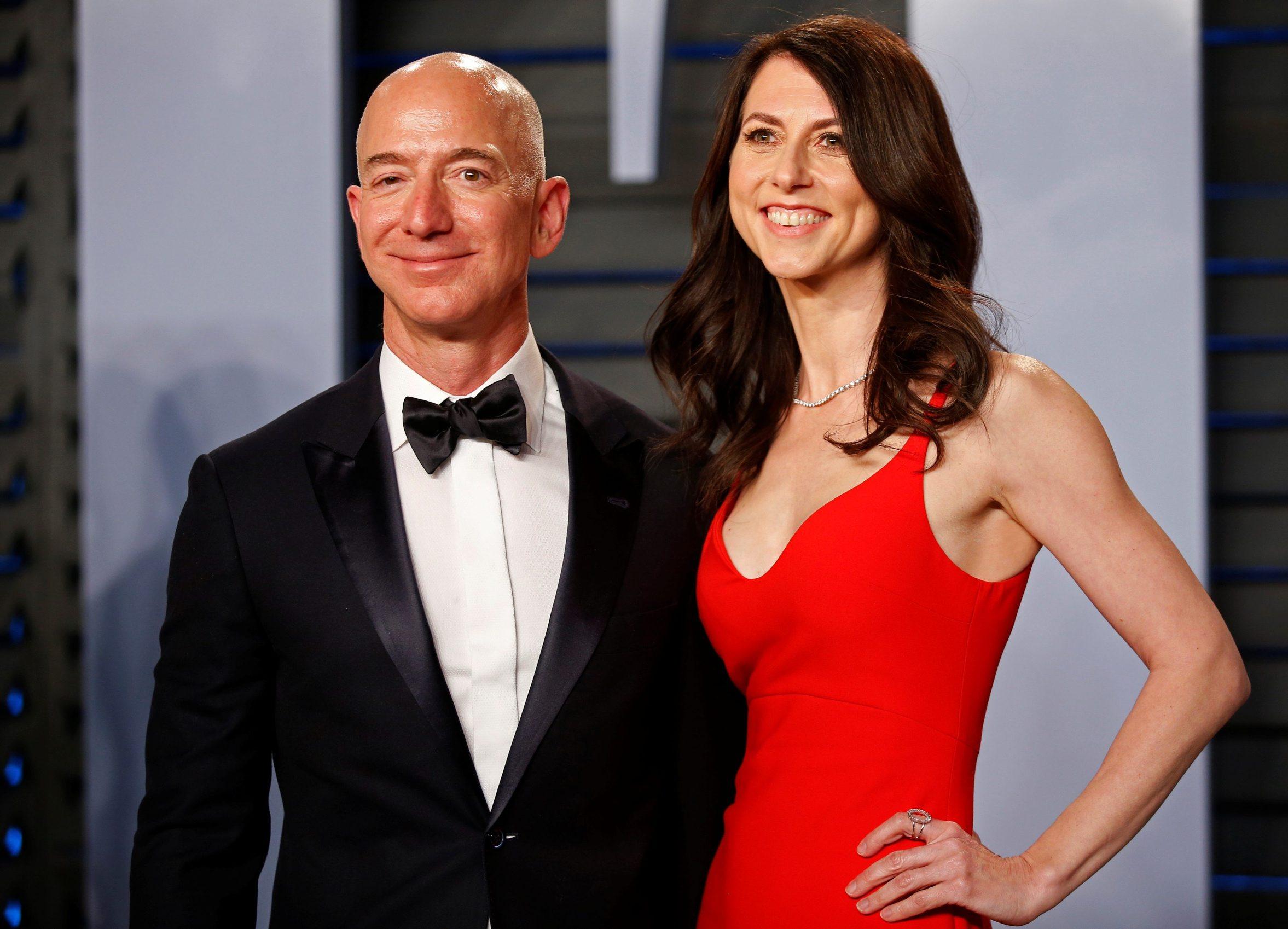 Jeff Bezos i Mackenzie Bezos