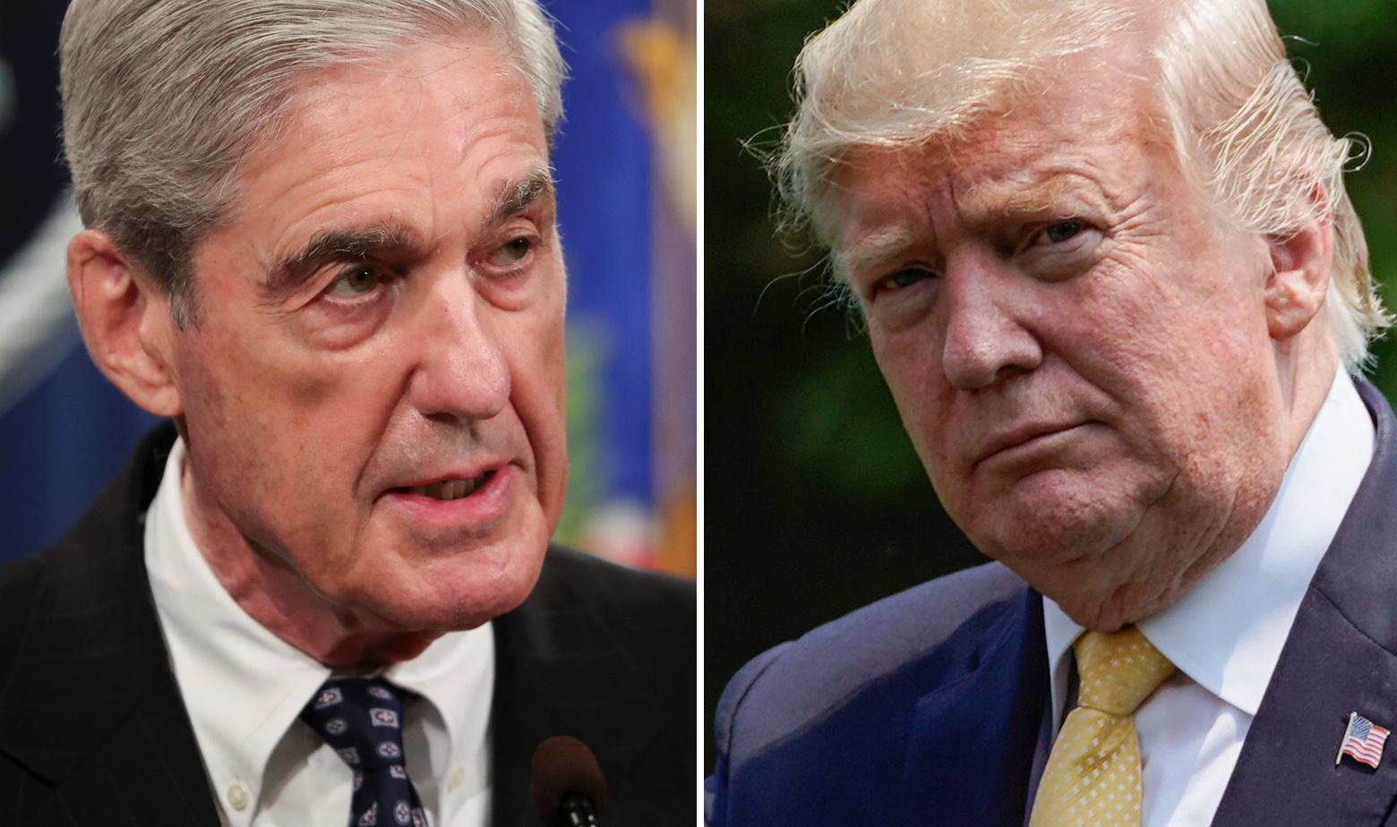 Robert Mueller i Donald Trump