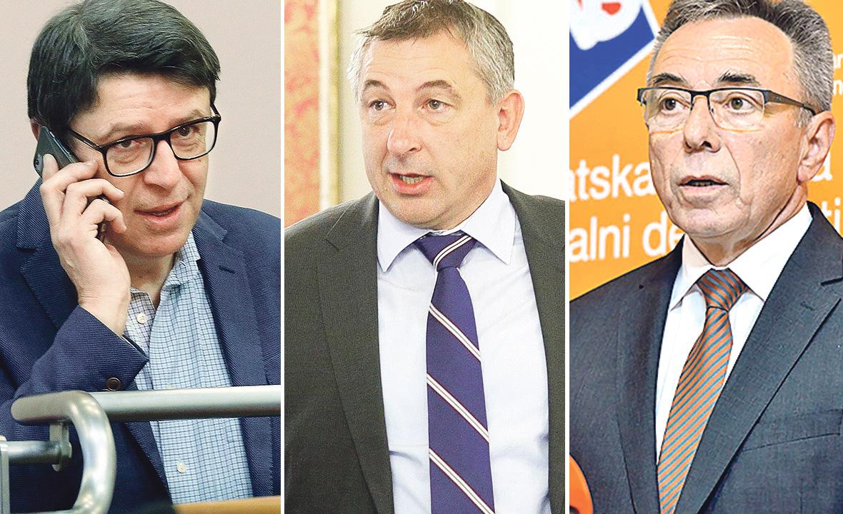 Željko Jovanović, Predrag Štromar i Milorad Batinić