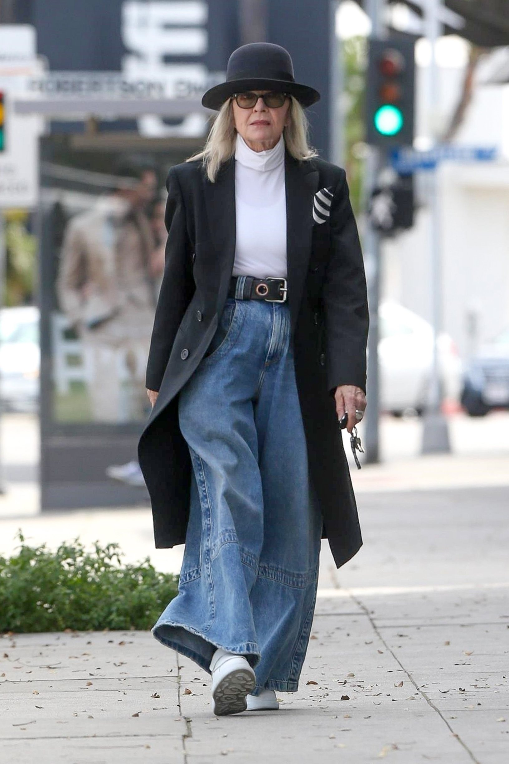 Beverly Hills, CA  - *EXCLUSIVE*  - Diane Keaton displays her unique style while getting some shopping done this morning.  Pictured: Diane Keaton  BACKGRID USA 1 APRIL 2019, Image: 423618770, License: Rights-managed, Restrictions: , Model Release: no, Credit line: Profimedia, Backgrid USA