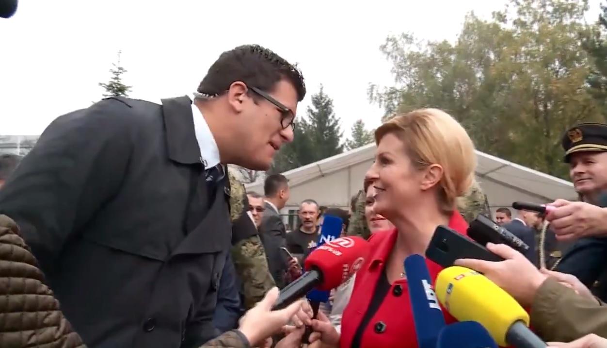 Hrvoje Krešić i Kolinda Grabar-Kitarović