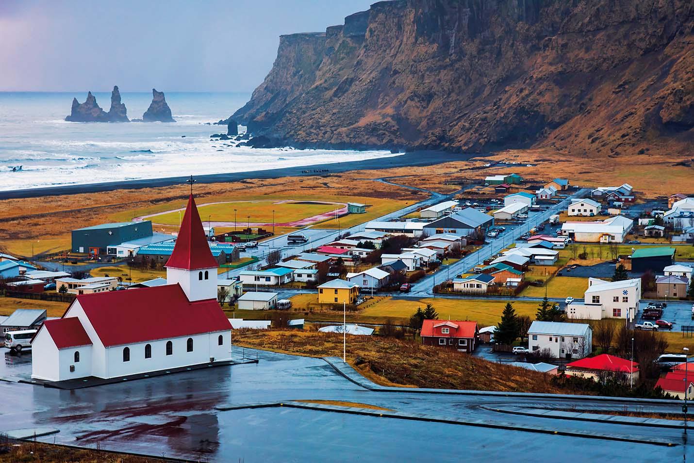 Vik je tipično islandsko mjestašce