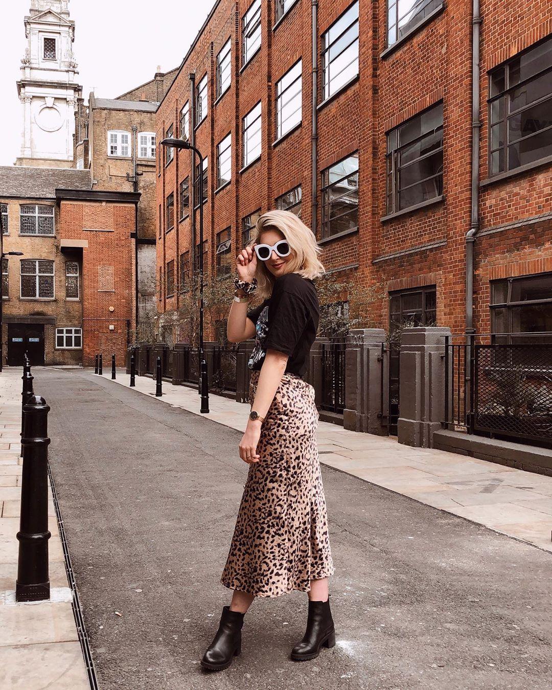 suknja leopard