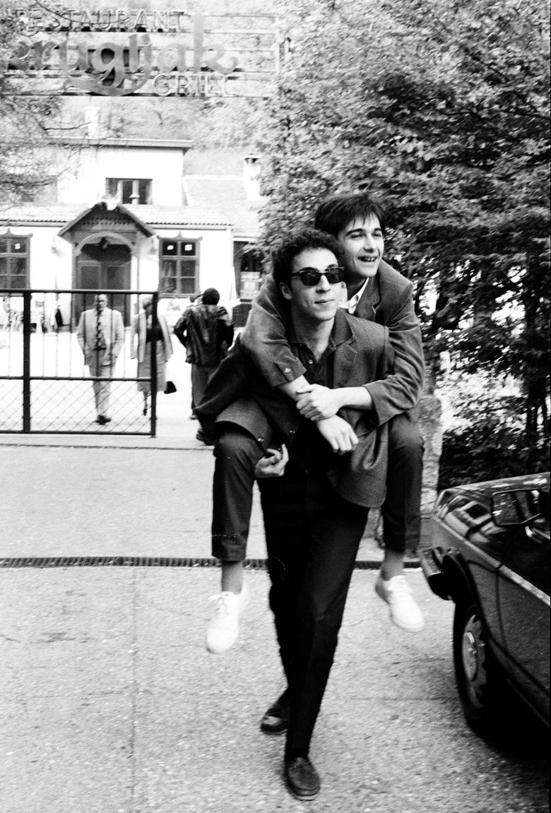Idoli,Srdjan i Vlada Divljan 5.1982.Zagreb photo Goranka Matic