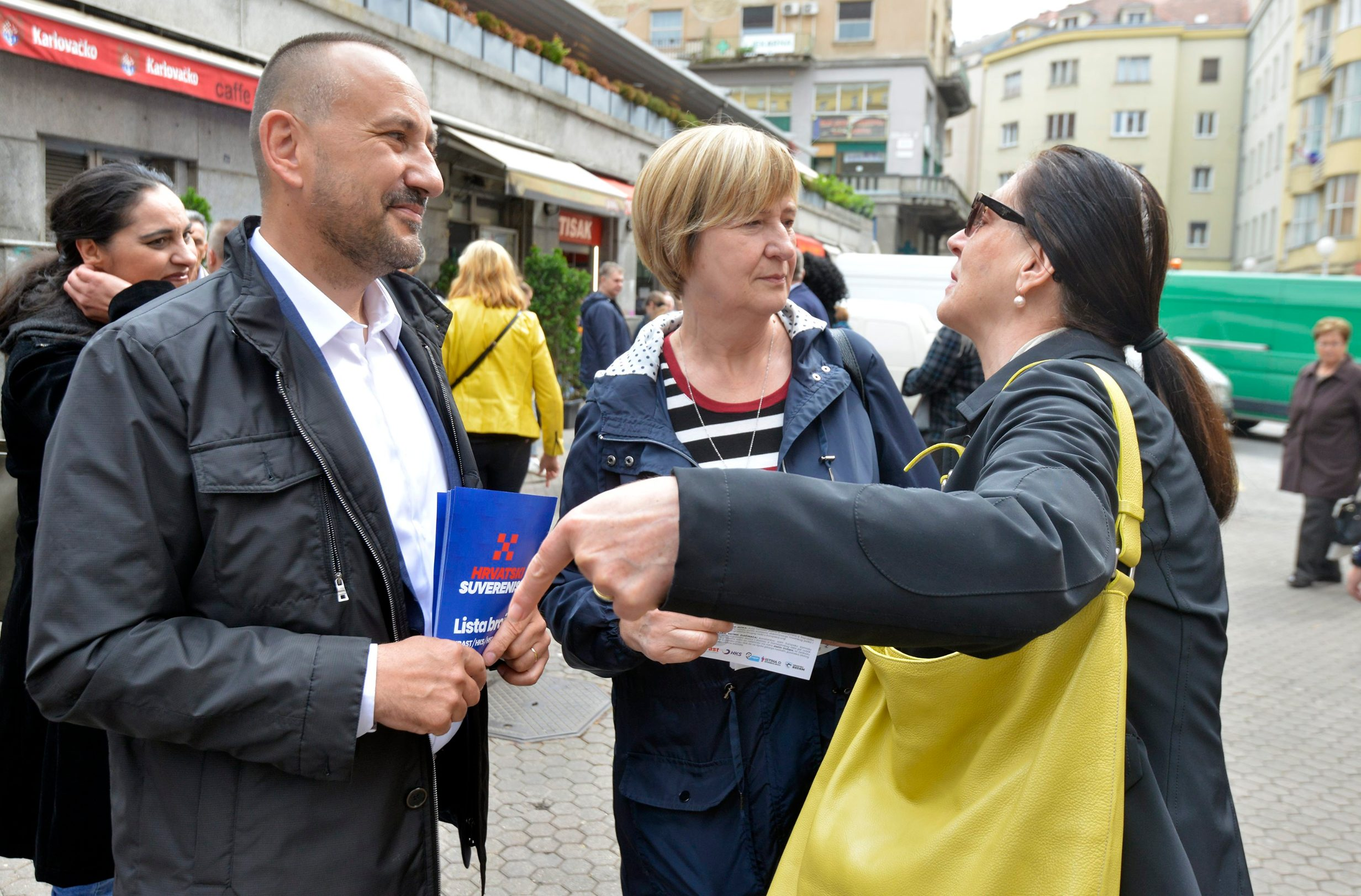 Na fotografiji: Hrvoje Zekanović, Ruža Tomašić