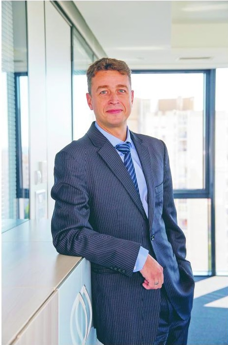 Balázs Békefi, predsjednik uprave OTP banke