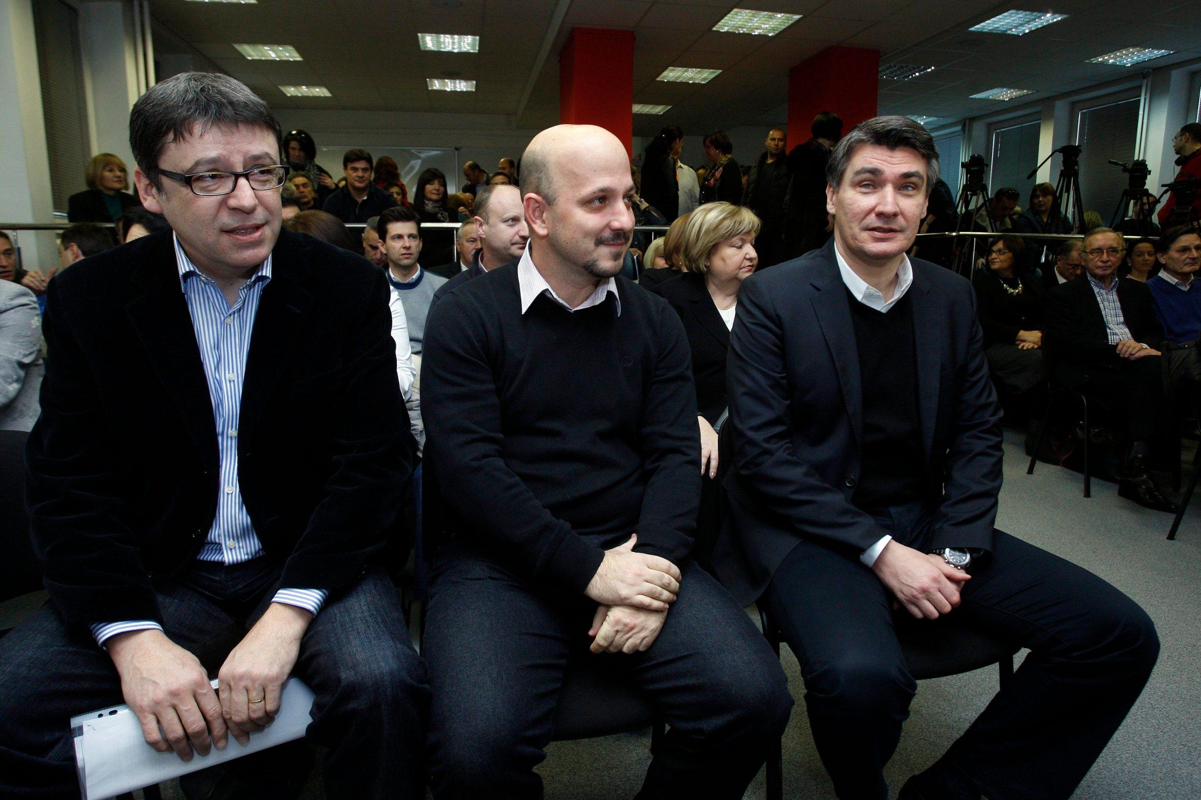 Željko Jovanović, Gordan Maras, Zoran Milanović