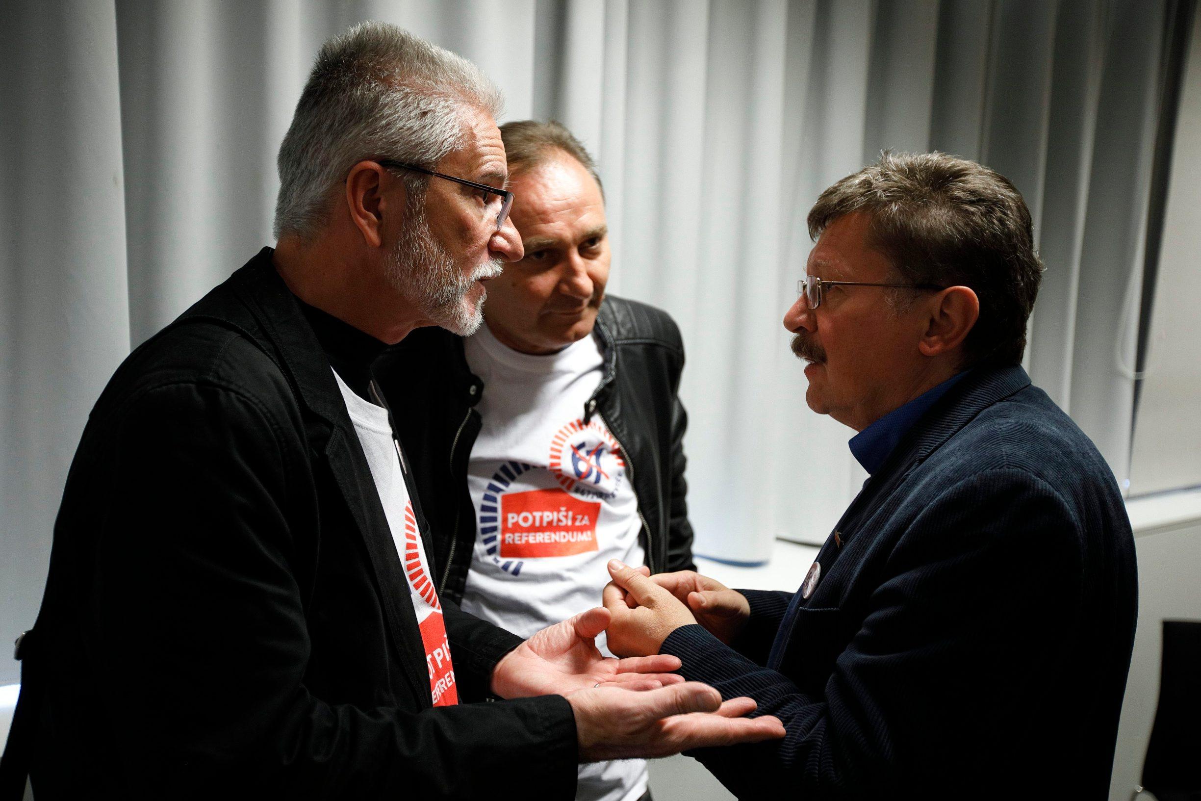 Krešimir Sever, Mladen Novosel, Vilim Ribić