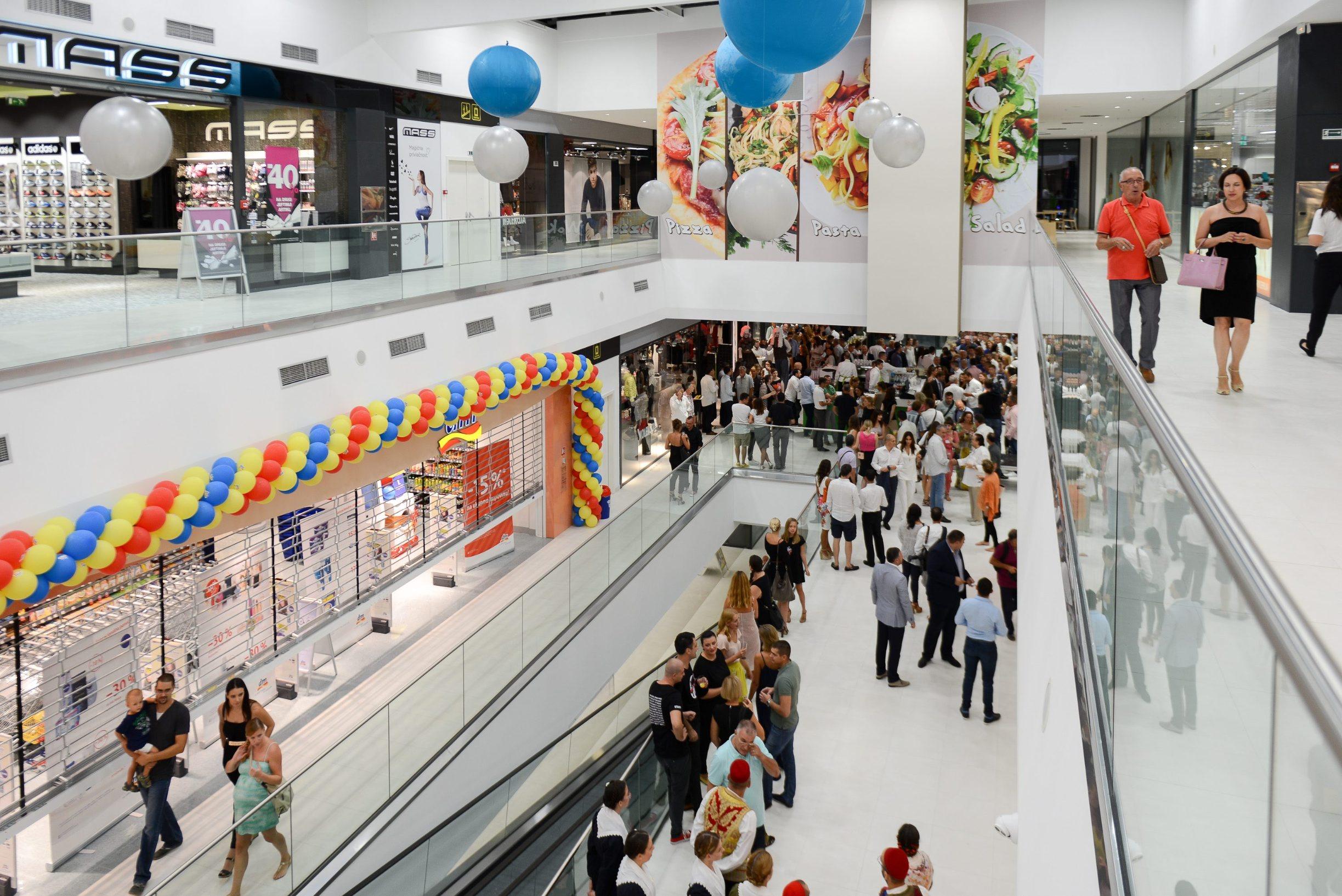 Shopping centar, ilustracija