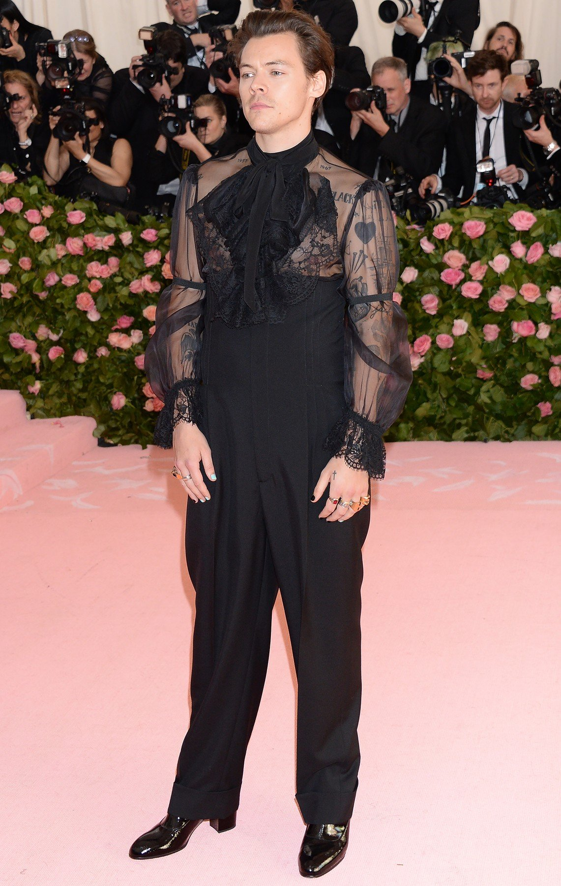 The 2019 Met Gala Celebrating Camp: Notes on Fashion - Arrivals. 06 May 2019, Image: 431339566, License: Rights-managed, Restrictions: NO Argentina, Australia, Belgium, Brazil, Bulgaria, China, Czech Republic, Estonia, Finland, France, Greece, Hong Kong, Hungary, Italy, Japan, Latvia, Lithuania, Luxembourg, Mexico, Netherland Antilles, Netherlands, New Caledonia, Poland, Romania, Russia, Slovakia, Slovenia, Spain, Sweden, Switzerland, Taiwan, Model Release: no, Credit line: Profimedia, Mega Agency