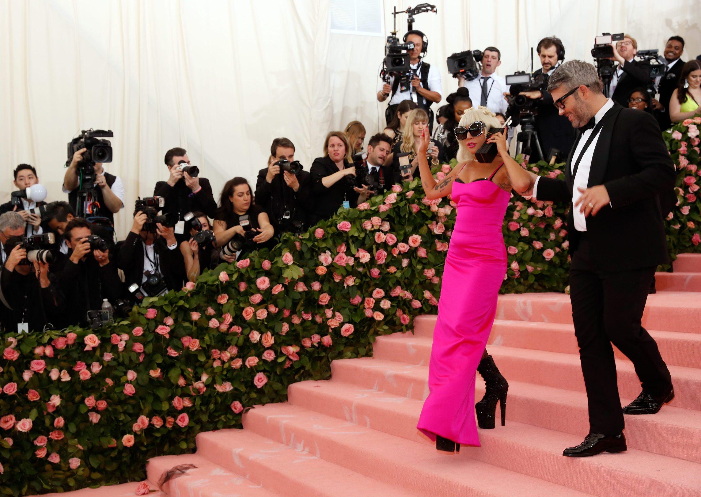Metropolitan Museum of Art Costume Institute Gala - Met Gala - Camp: Notes on Fashion- Arrivals - New York City, U.S. Äi May 6, 2019 - Lady Gaga. REUTERS/Andrew Kelly