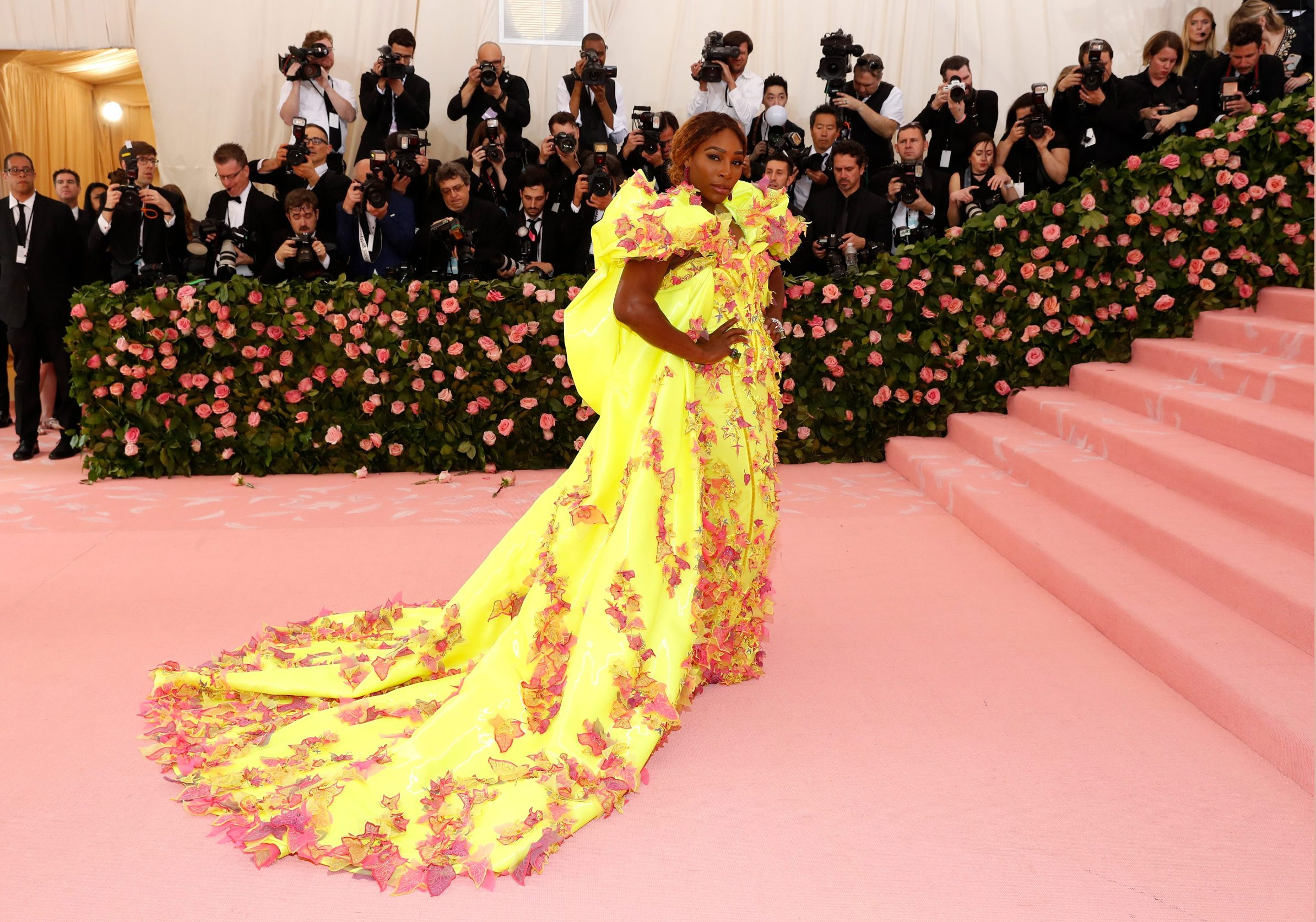 Metropolitan Museum of Art Costume Institute Gala - Met Gala - Camp: Notes on Fashion- Arrivals - New York City, U.S. Äi May 6, 2019 - Serena Williams. REUTERS/Andrew Kelly