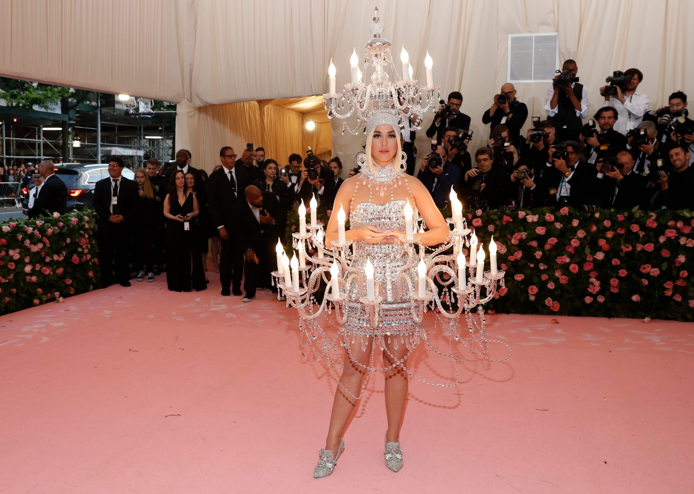 Metropolitan Museum of Art Costume Institute Gala - Met Gala - Camp: Notes on Fashion- Arrivals - New York City, U.S. Äi May 6, 2019 - Katy Perry.  REUTERS/Andrew Kelly