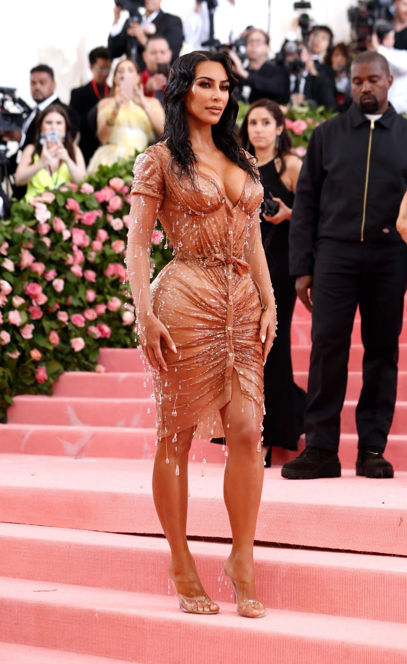 Metropolitan Museum of Art Costume Institute Gala - Met Gala - Camp: Notes on Fashion- Arrivals - New York City, U.S. Äi May 6, 2019 - Kim Kardashian. REUTERS/Andrew Kelly