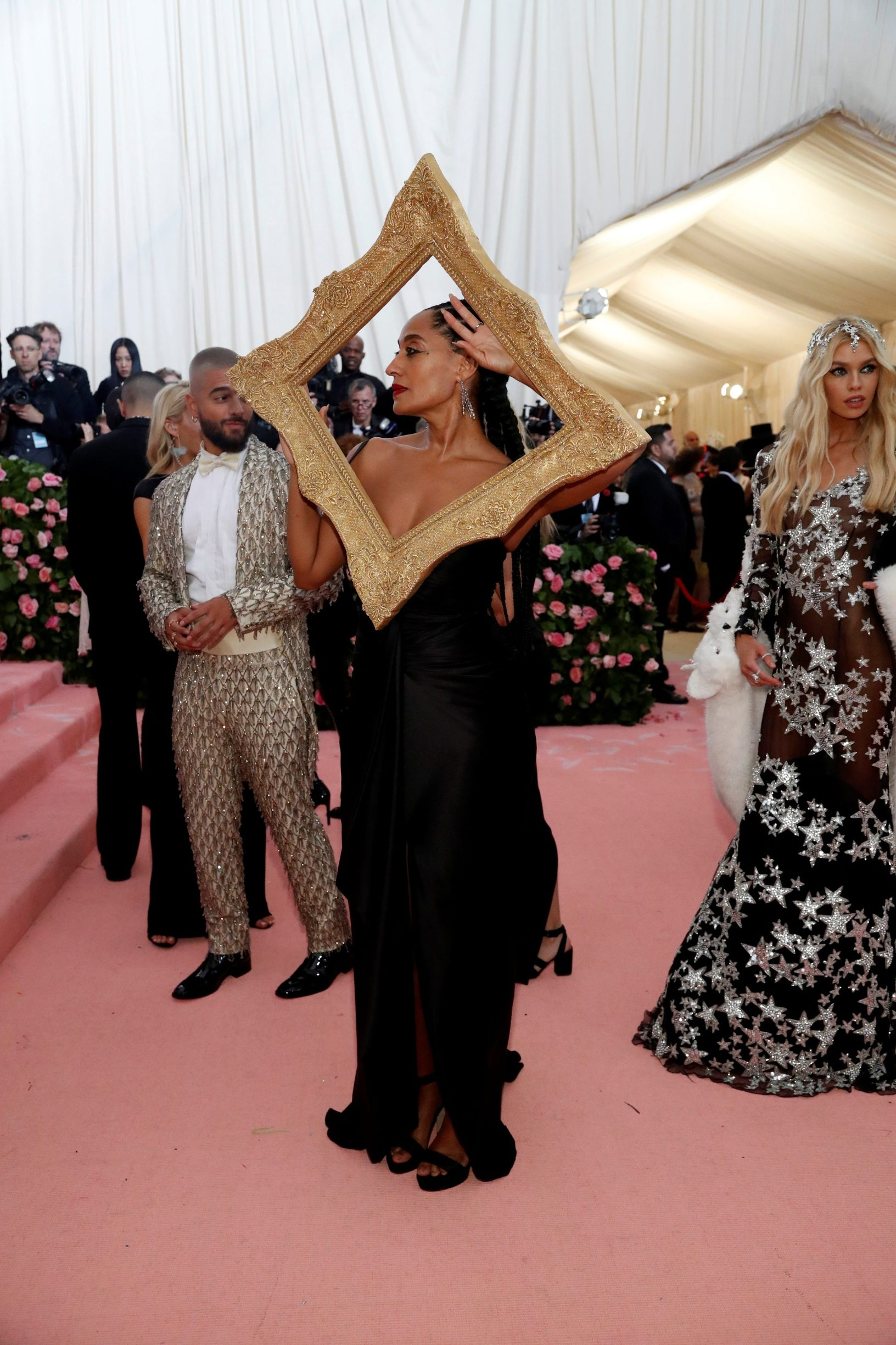 Metropolitan Museum of Art Costume Institute Gala - Met Gala-Camp: Notes on Fashion - Arrivals- New York City, U.S. - May 6, 2019 - Tracee Ellis Ross. REUTERS/Mario Anzuoni