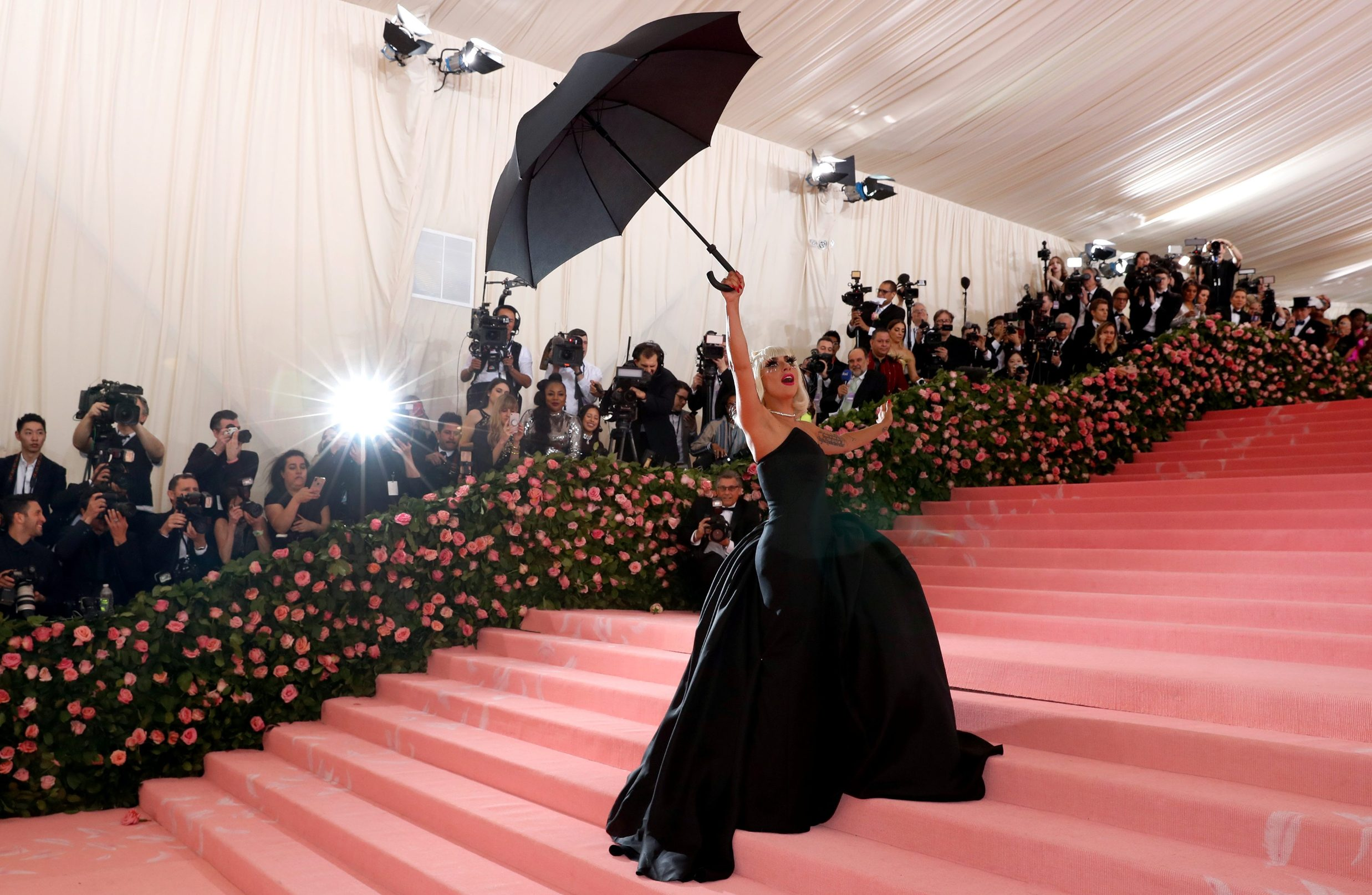 Metropolitan Museum of Art Costume Institute Gala - Met Gala - Camp: Notes on Fashion- Arrivals - New York City, U.S. Äi May 6, 2019 - Lady Gaga. REUTERS/Andrew Kelly     TPX IMAGES OF THE DAY
