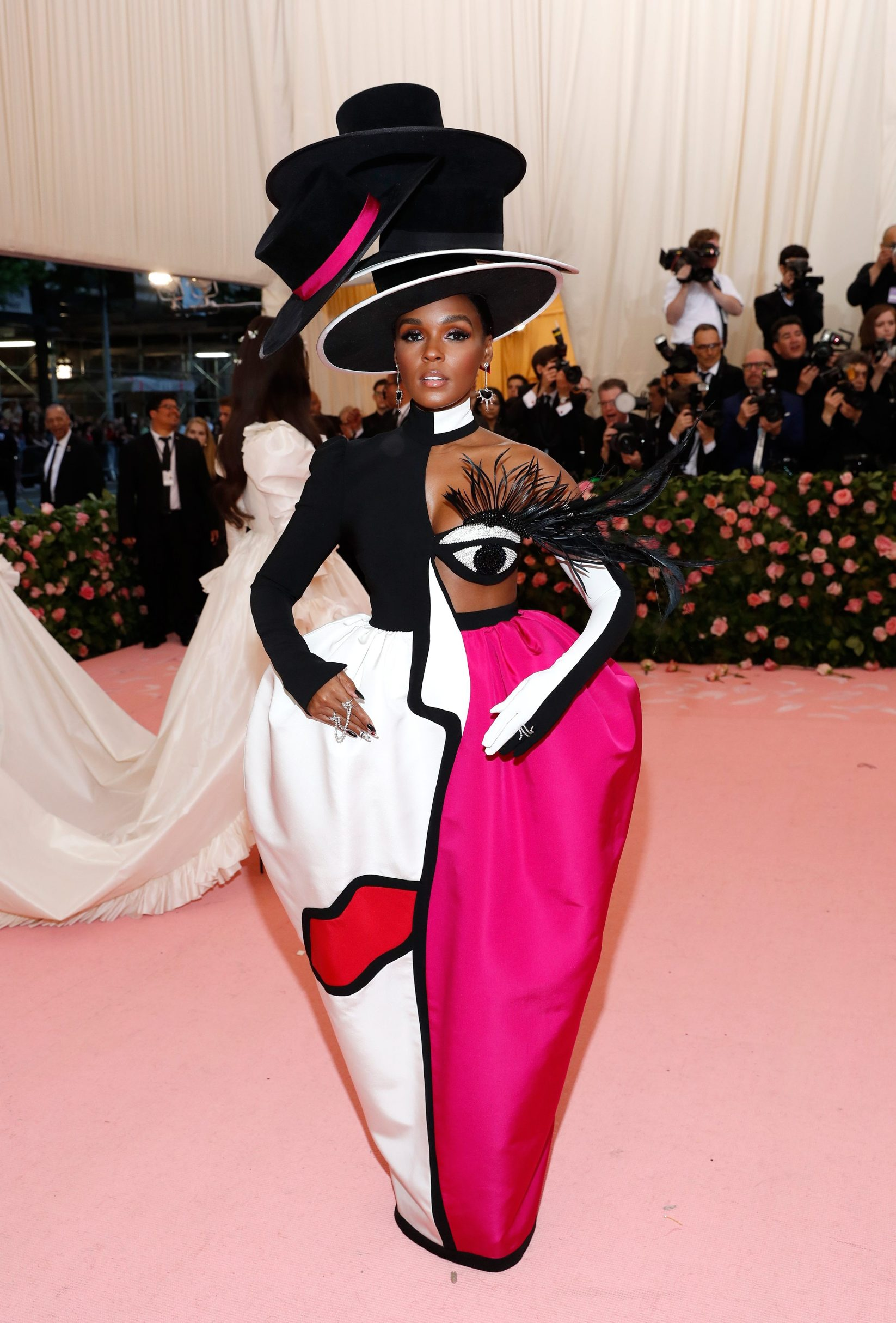 Metropolitan Museum of Art Costume Institute Gala - Met Gala - Camp: Notes on Fashion- Arrivals - New York City, U.S. Äi May 6, 2019 - Janelle Monae. REUTERS/Andrew Kelly