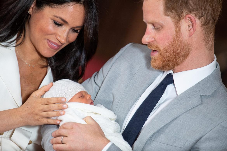 Meghan Markle i princ Harry sa sinom