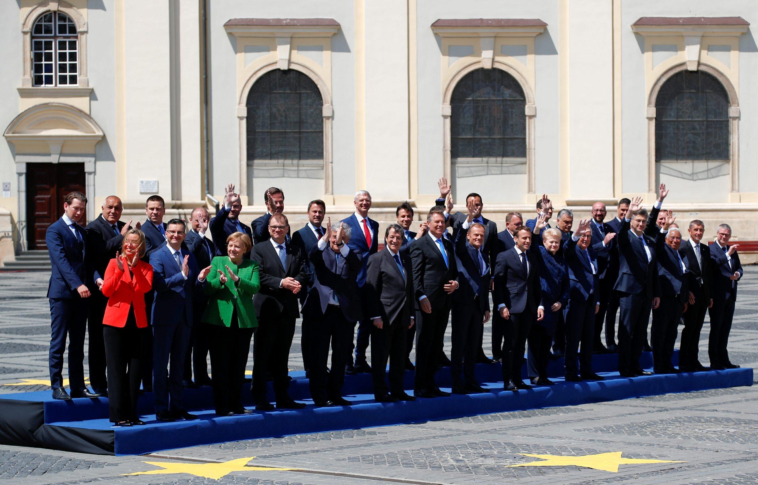 Čelnici 27 zemalja članica EU na neformalnom sastanku u Rumunjskoj