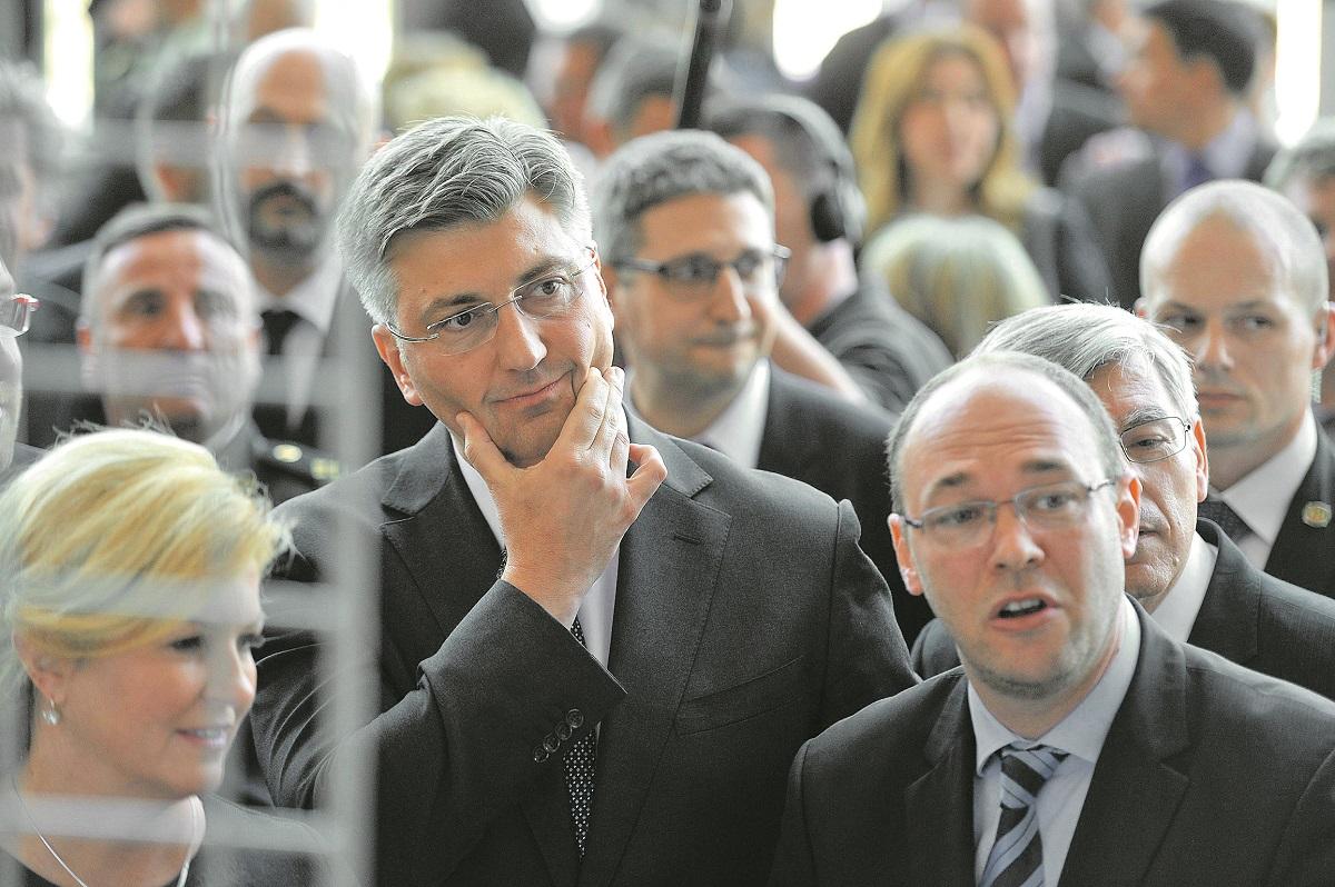 Andrej Plenković, Davor Ivo Stier