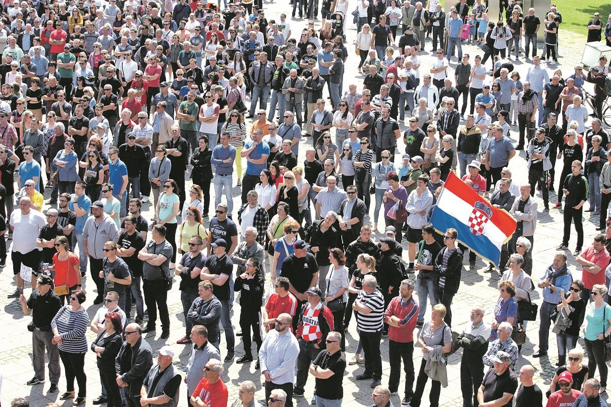 Prosvjed u Čakovcu