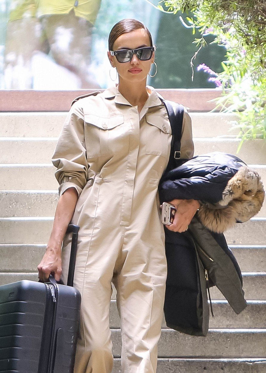 Irina Shayk is seen in Los Angeles, California.  NON-EXCLUSIVE   June 6, 2019. 06 Jun 2019, Image: 443987296, License: Rights-managed, Restrictions: World Rights, Model Release: no, Credit line: Profimedia, Mega Agency