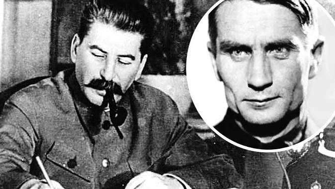 Josif Visarionovič Staljin (lijevo) i Trofim Lisenko (desno)