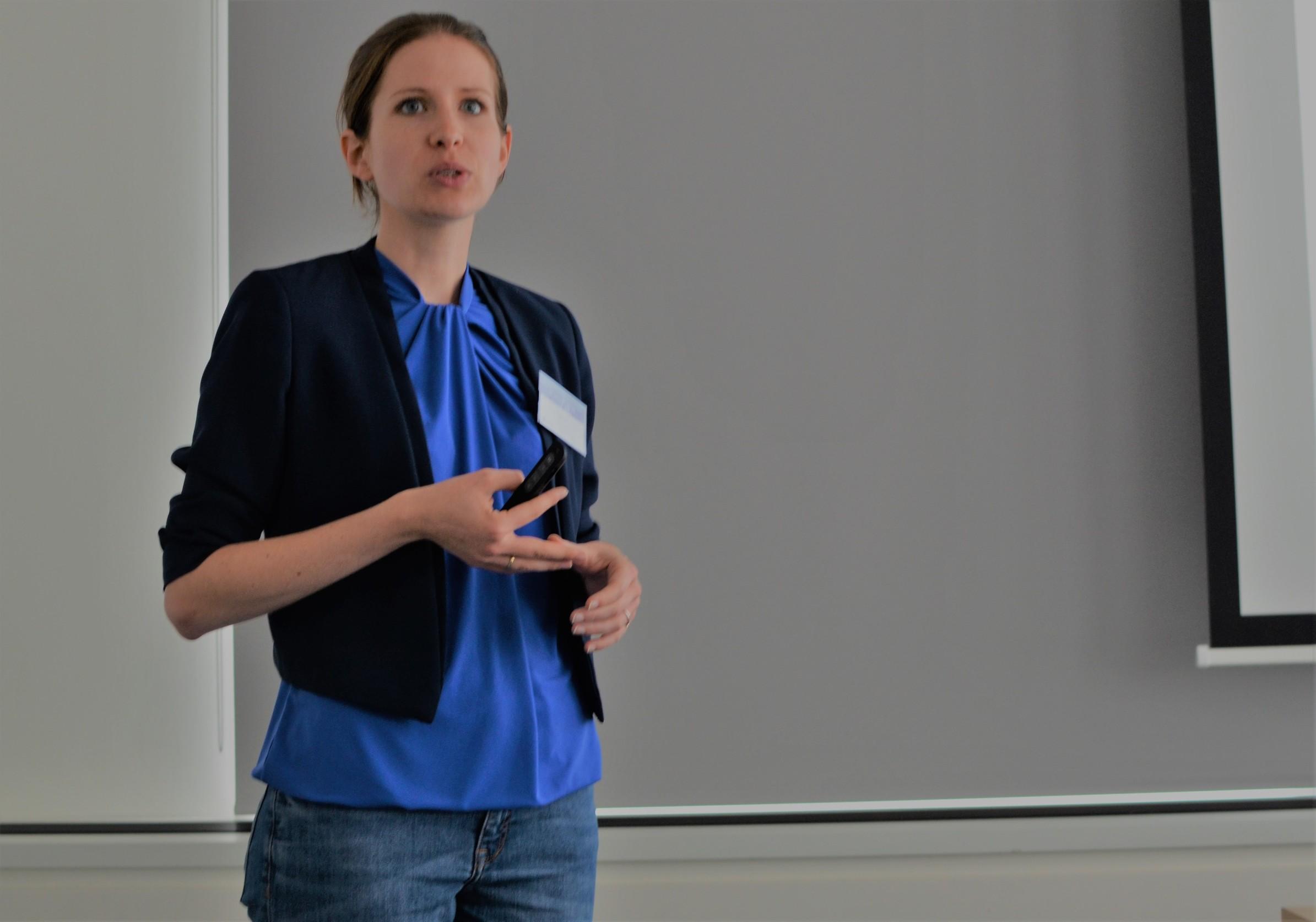 Julia Panny, regionalna programska menadžerica u Climate-KIC-u