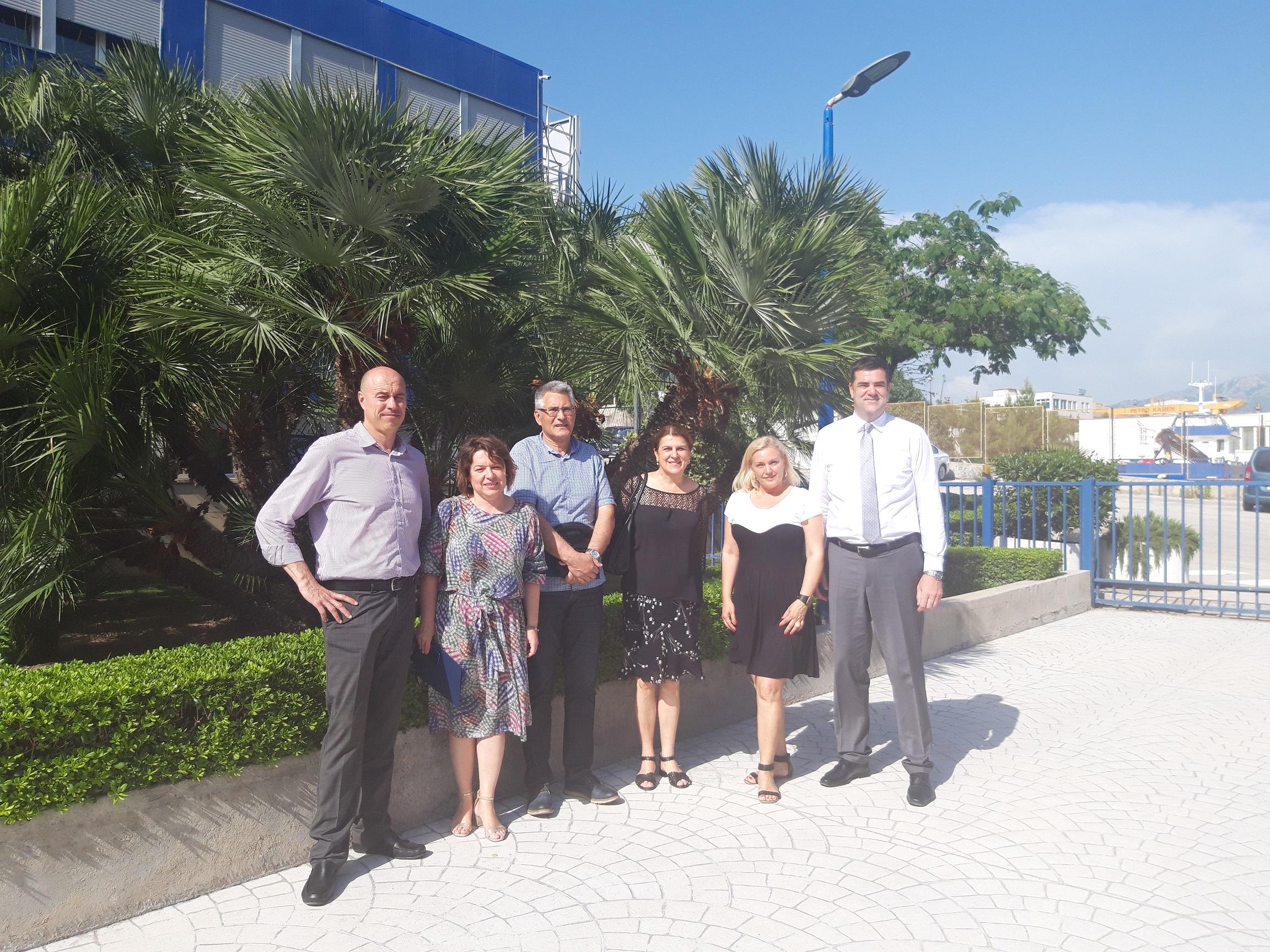 Ravnatelji eko škola s predstavnicima CEMEX-a