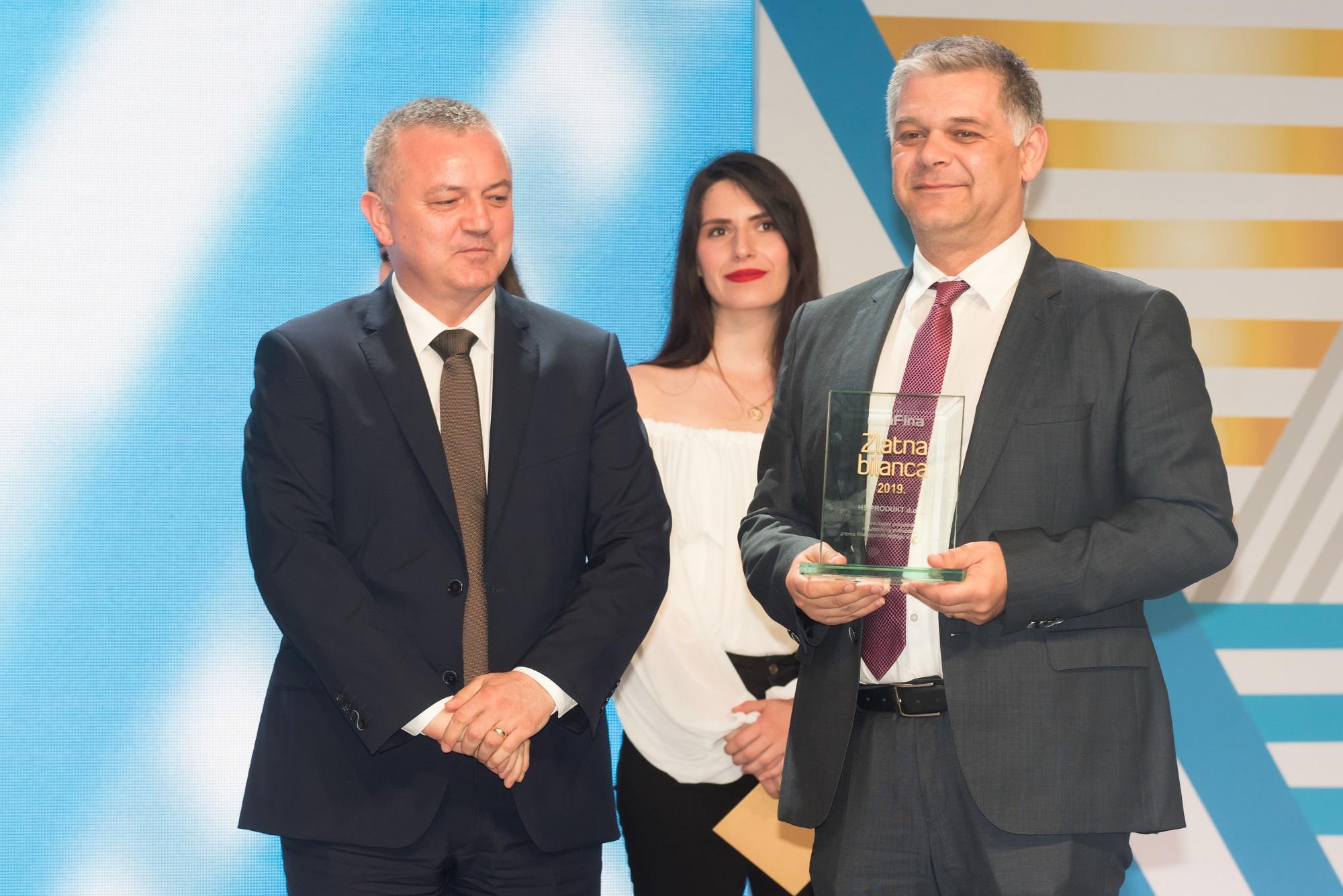 HS Produkt proglašen je sveukupnim pobjednikom, odnosno najuspješnijim hrvatskim poduzetnikom u 2018.