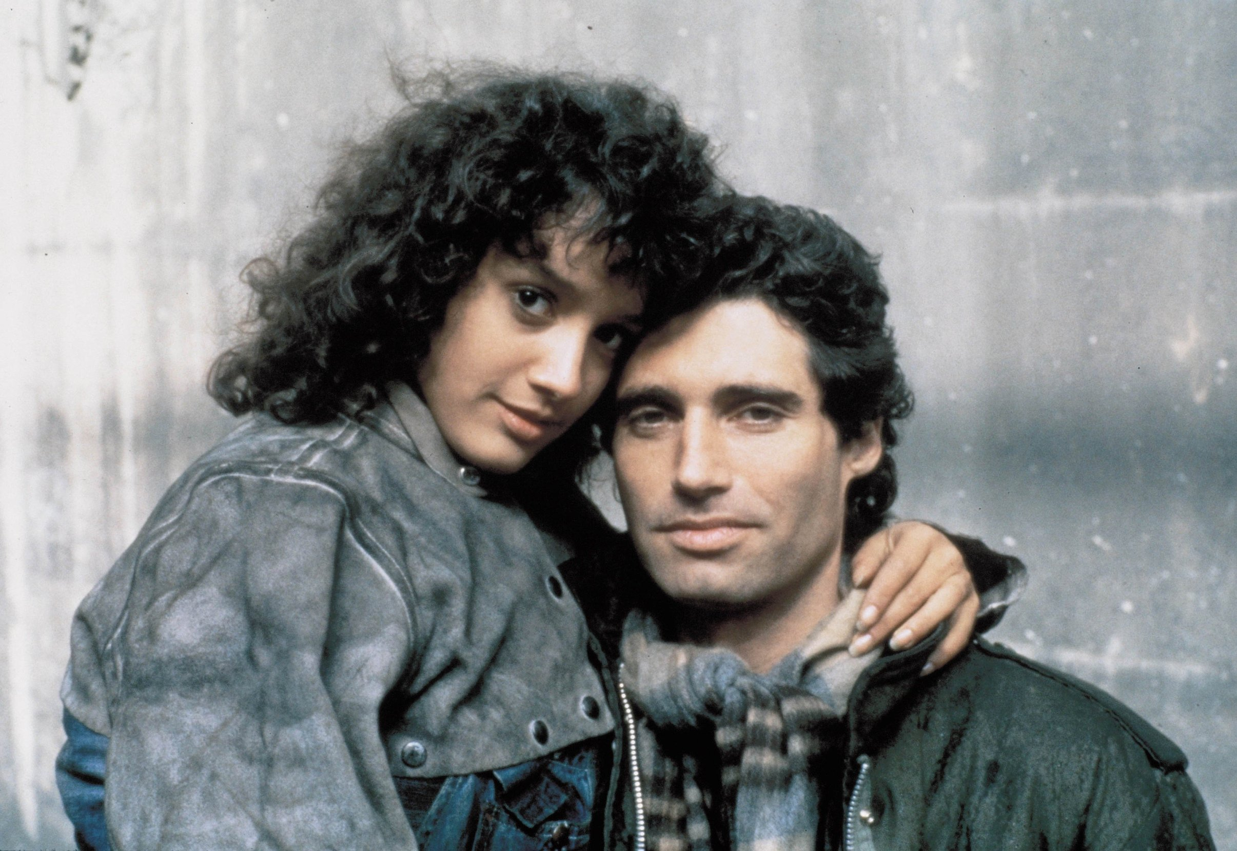 1983; Flashdance. Original Film Title: Flashdance, PICTURED: JENNIFER BEALS, MICHAEL NOURI, Director: Adrian Lyne, IN CAST: Jennifer Beals, Armand Assante, Irene Cara, Michael Nouri, Robert Wuhl, Elisabeth Sagal, Ron Karabatsos, Image: 94320521, License: Rights-managed, Restrictions: This image is NOT available for commercial or promotional use and is being made available for editorial reference usage only., Model Release: no, Credit line: Profimedia, Entertainment Pictures