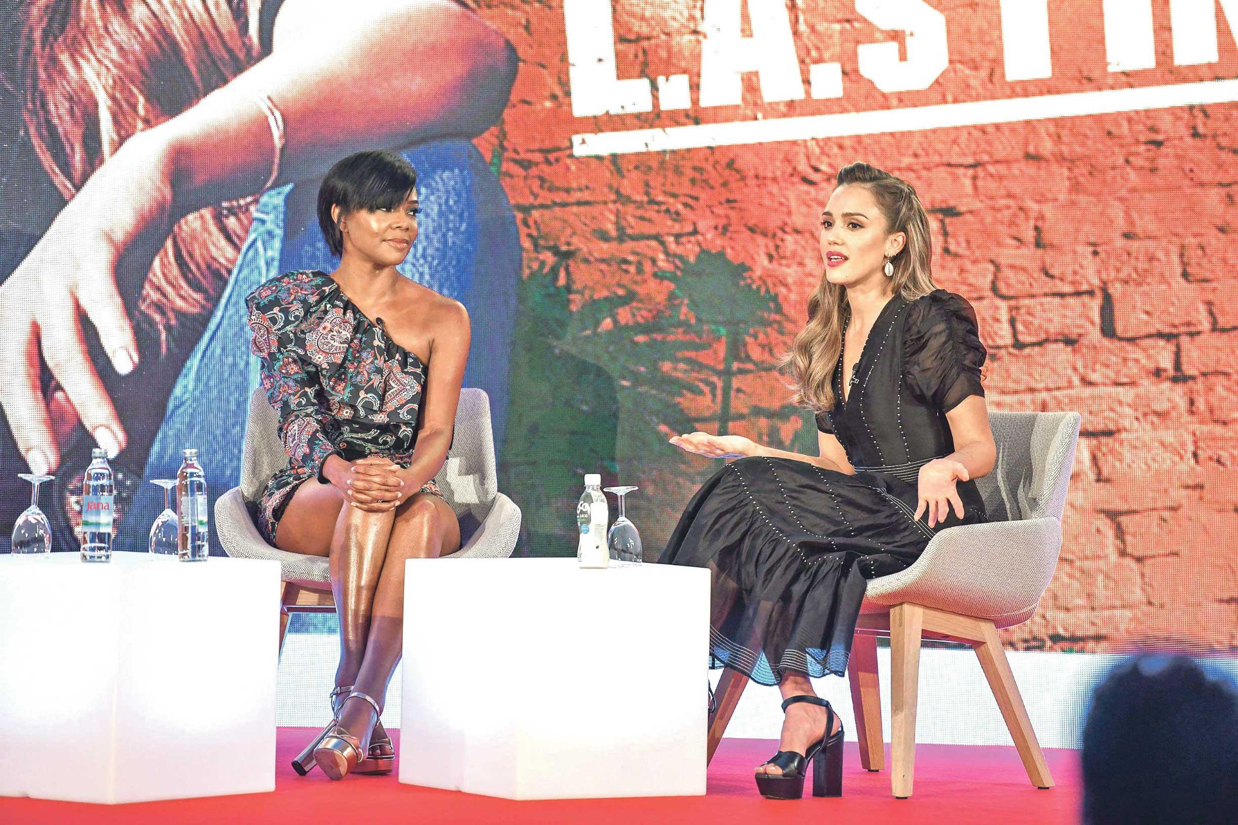 Gabrielle Union i Jessica Alba