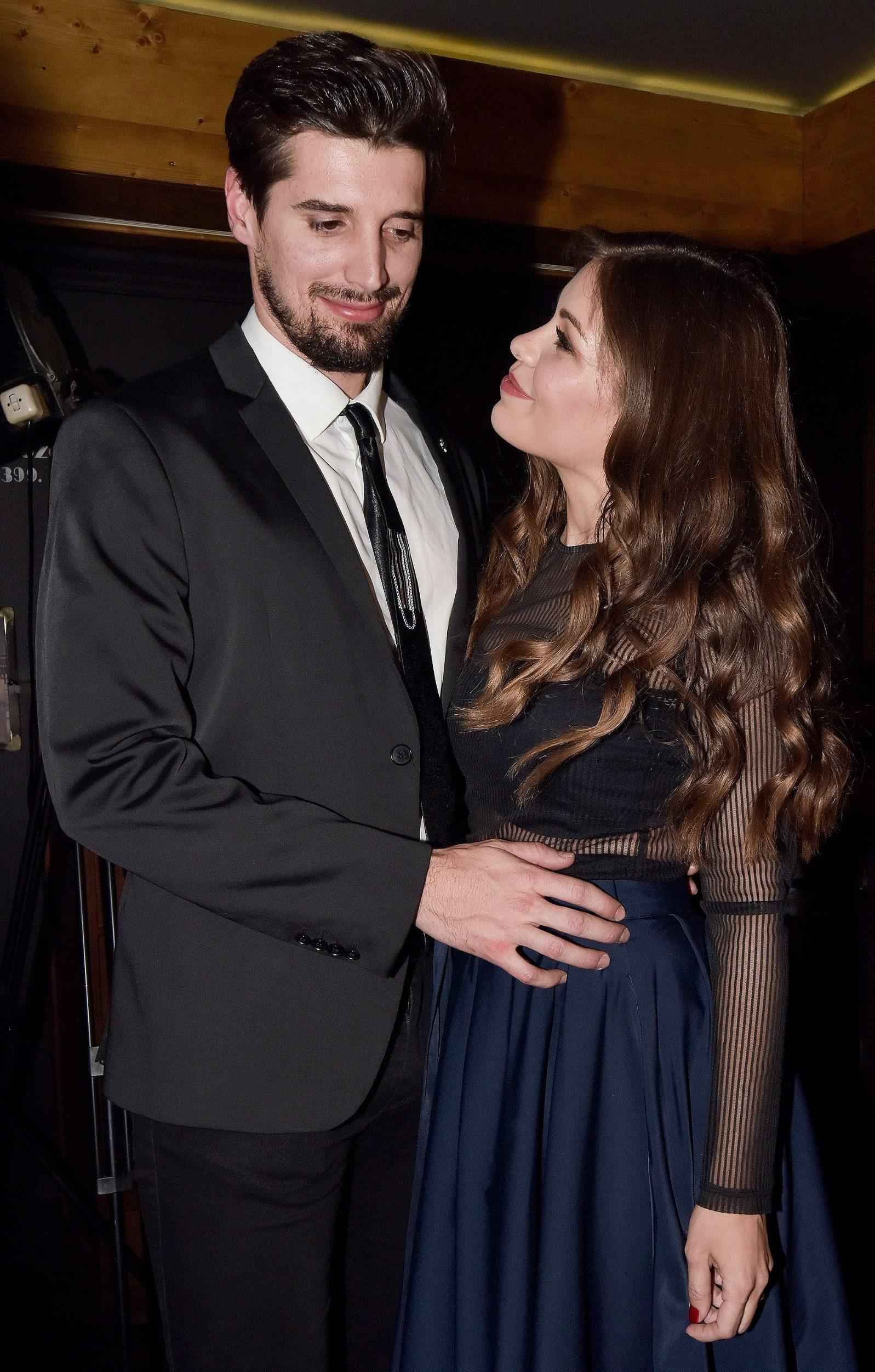 Luka Šulić sa suprugom Tamarom