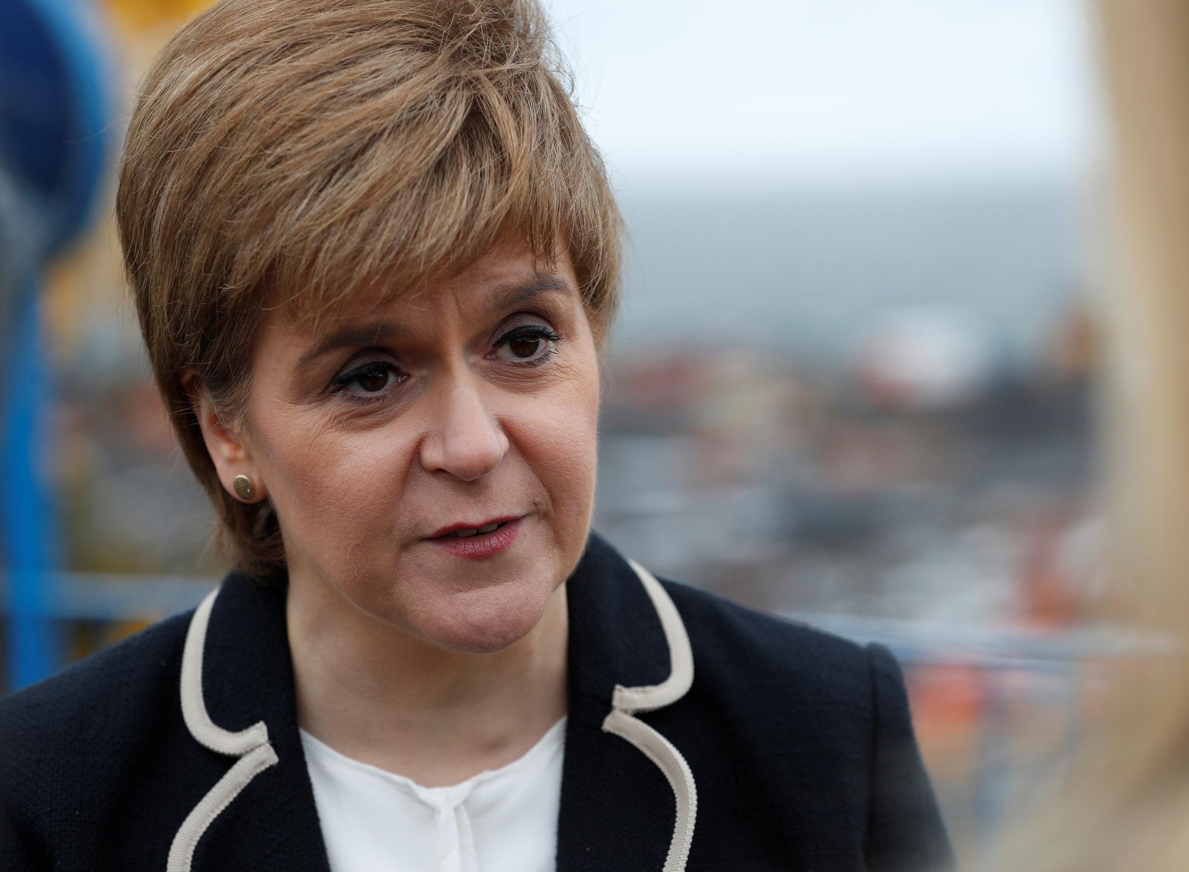 Škotska premijerka Nicola Sturgeon
