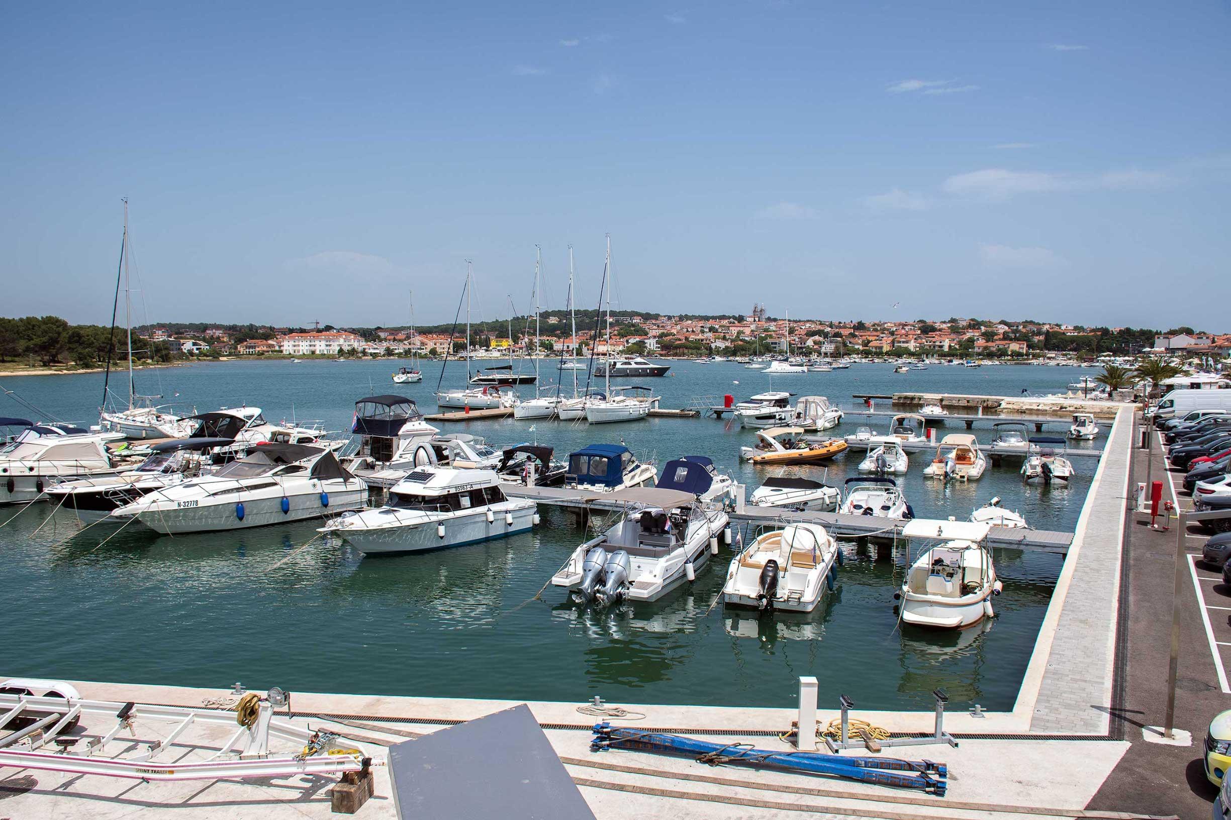 U Medulinu je otvorena nova marina Puntica